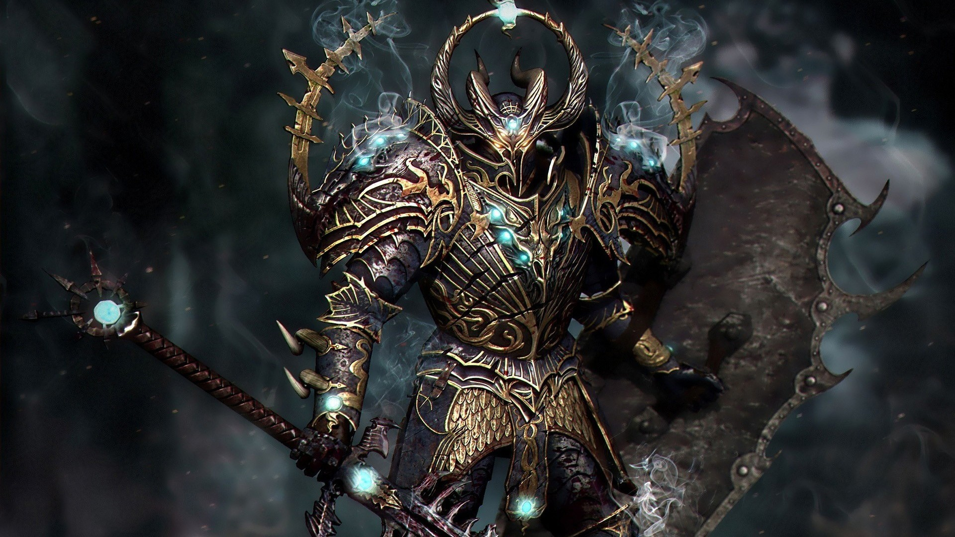 Res: 1920x1080,  game-wallpaper-fullhd-imagepages-warior-warhammer-images-chaos