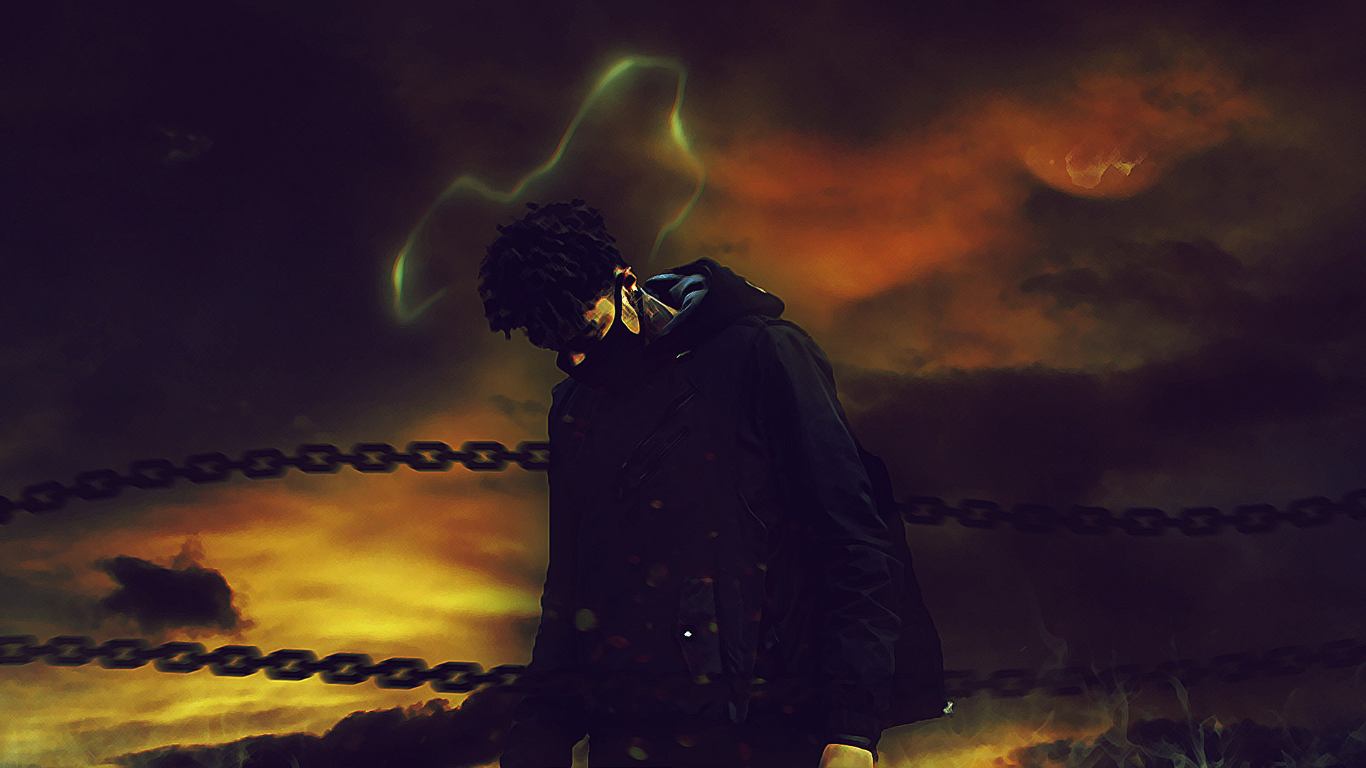 Res: 1920x1080, SCARLXRD Chaos Wallpaper by Derprived SCARLXRD Chaos Wallpaper by Derprived