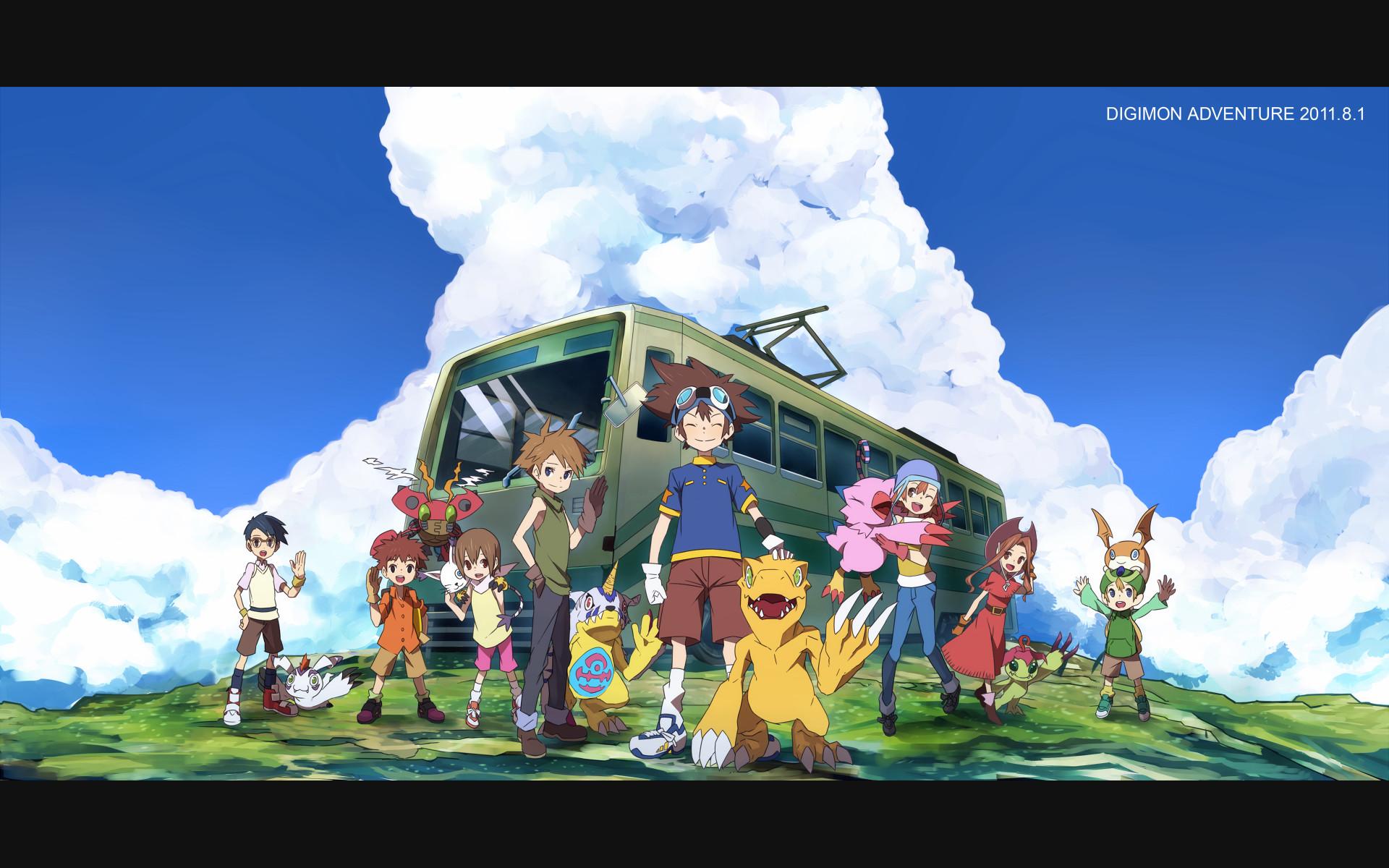 Res: 1920x1200, Digimon Adventure Wallpaper