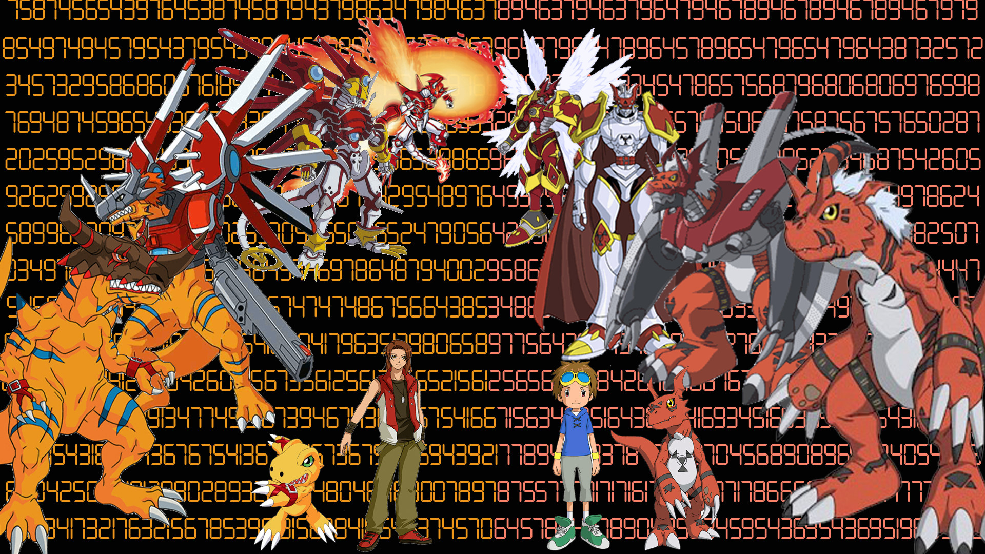 Res: 1920x1080, ... Digimon: Marcus and Takato Wallpapper by ryeguy5