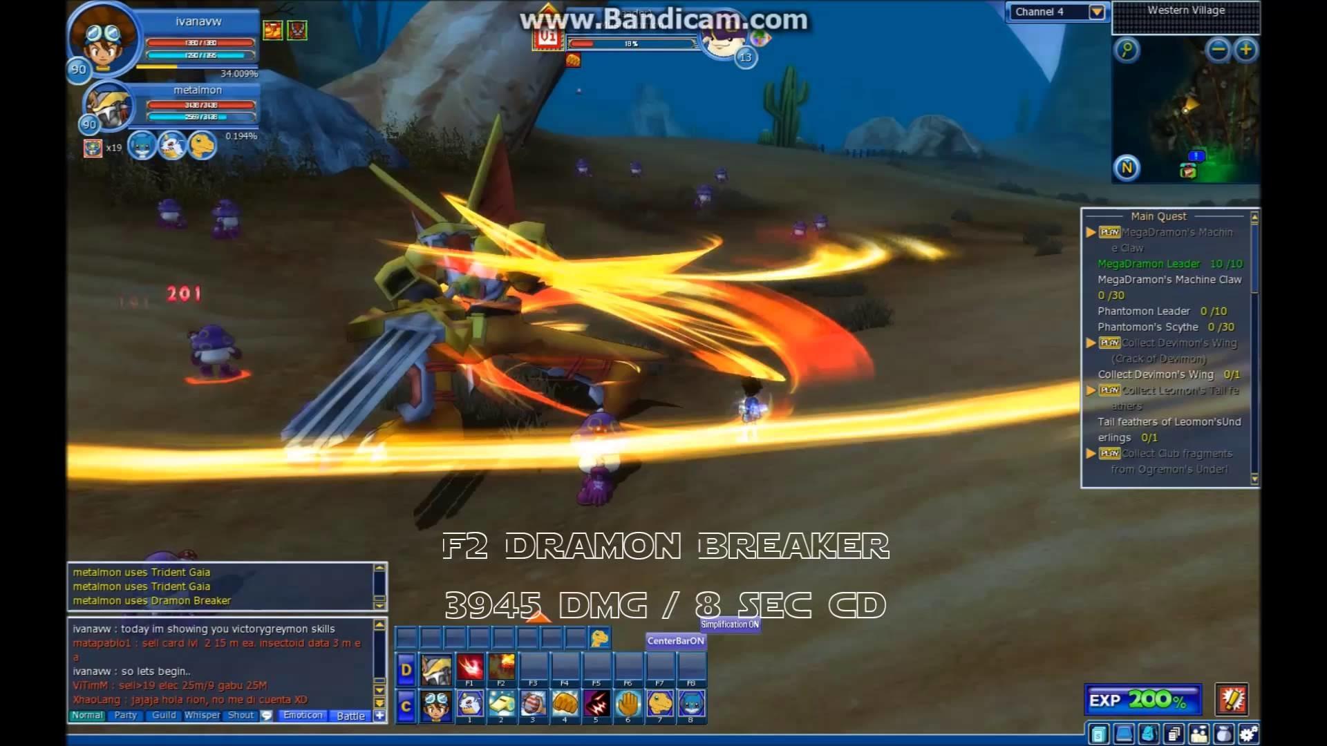 Res: 1920x1080, (GDMO)Victory Greymon skills (Agumon side mega) at 12/12 HD