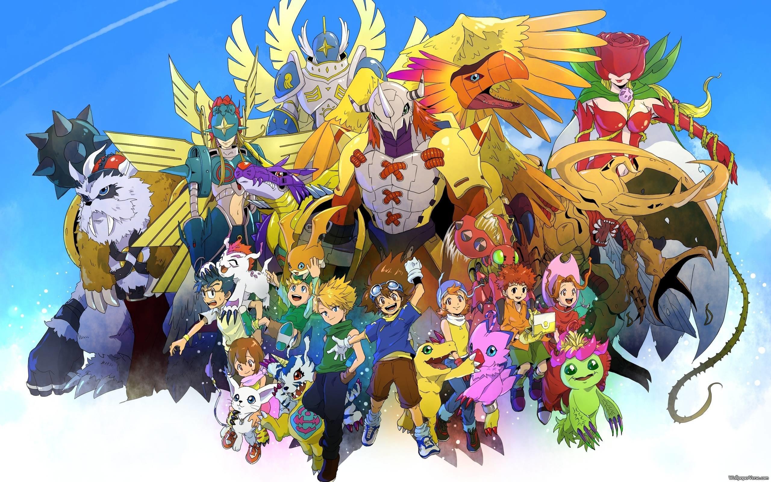 Res: 2560x1600, Digimon Wallpaper