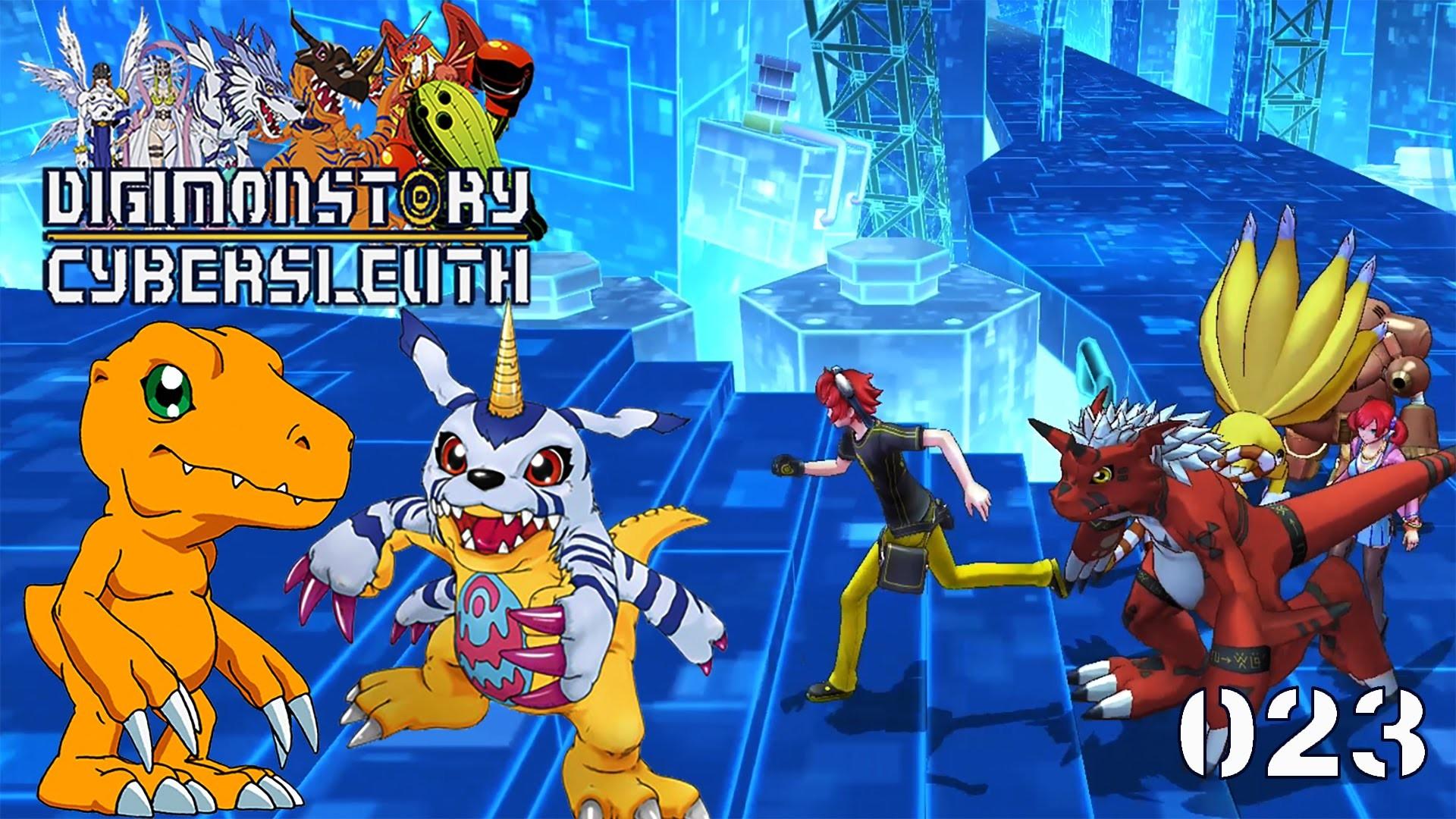 Res: 1920x1080, Digimon Story: Cyber Sleuth [023] Die Suche nach Agumon und Gabumon  [Deutsch] Let's play Digimon