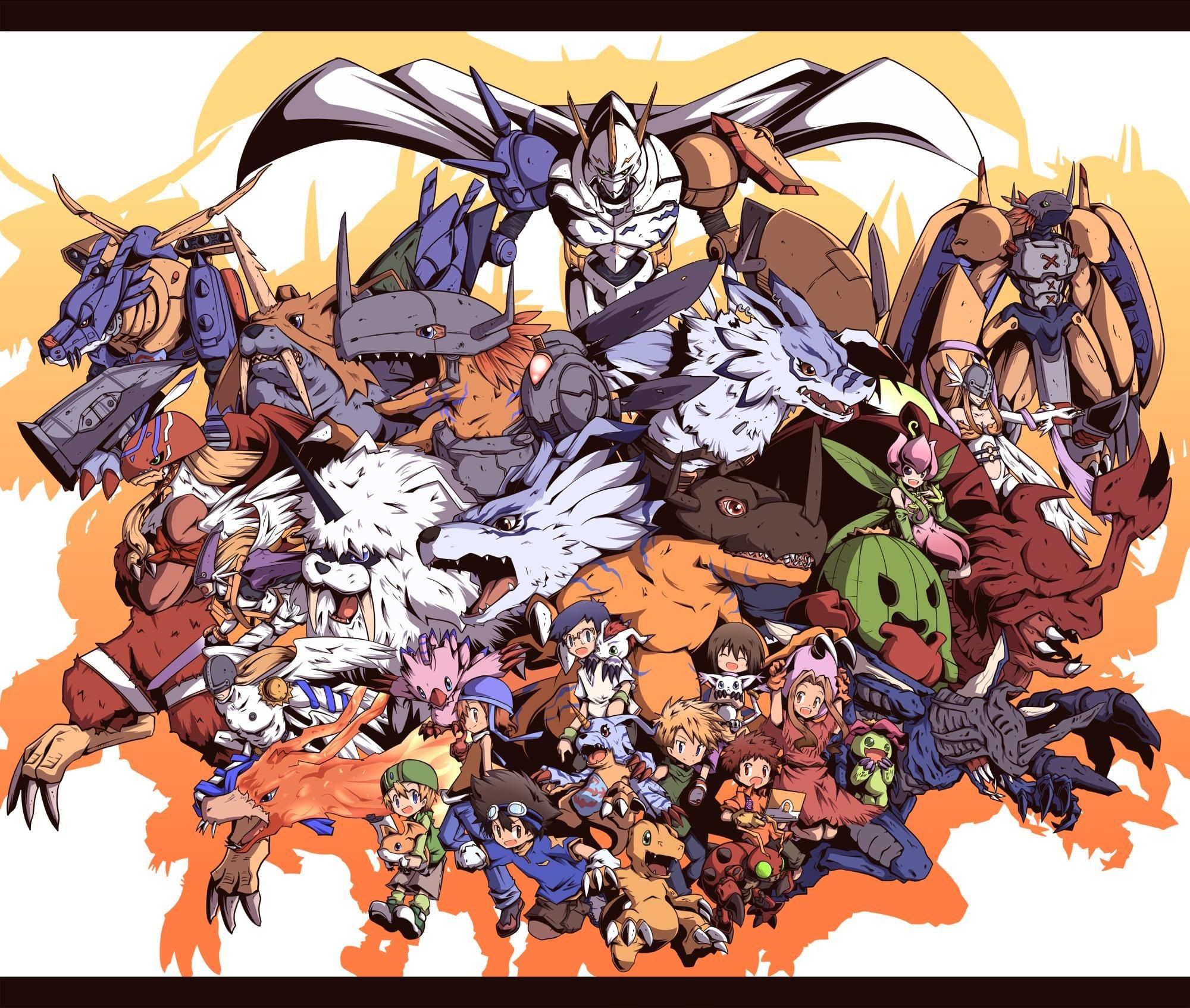 Res: 2000x1694, Digimon HD Wallpapers and Backgrounds