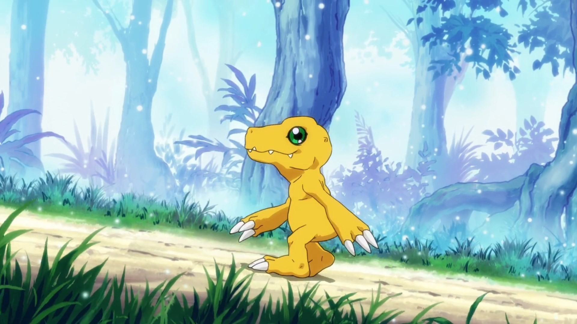 Res: 1920x1080, Agumon cameos on the newest Digimon Series