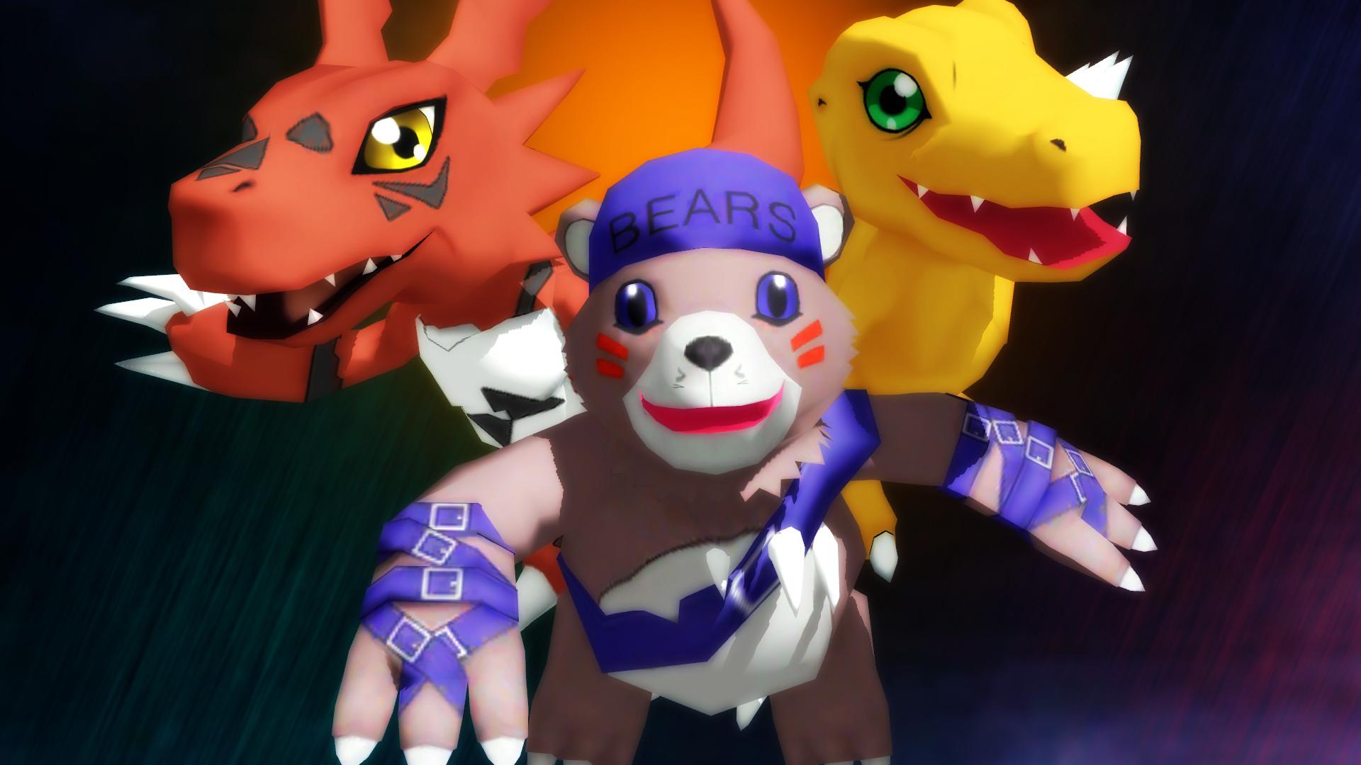 Res: 1920x1080, Digimon World 3 by GuilTronPrime Digimon World 3 by GuilTronPrime