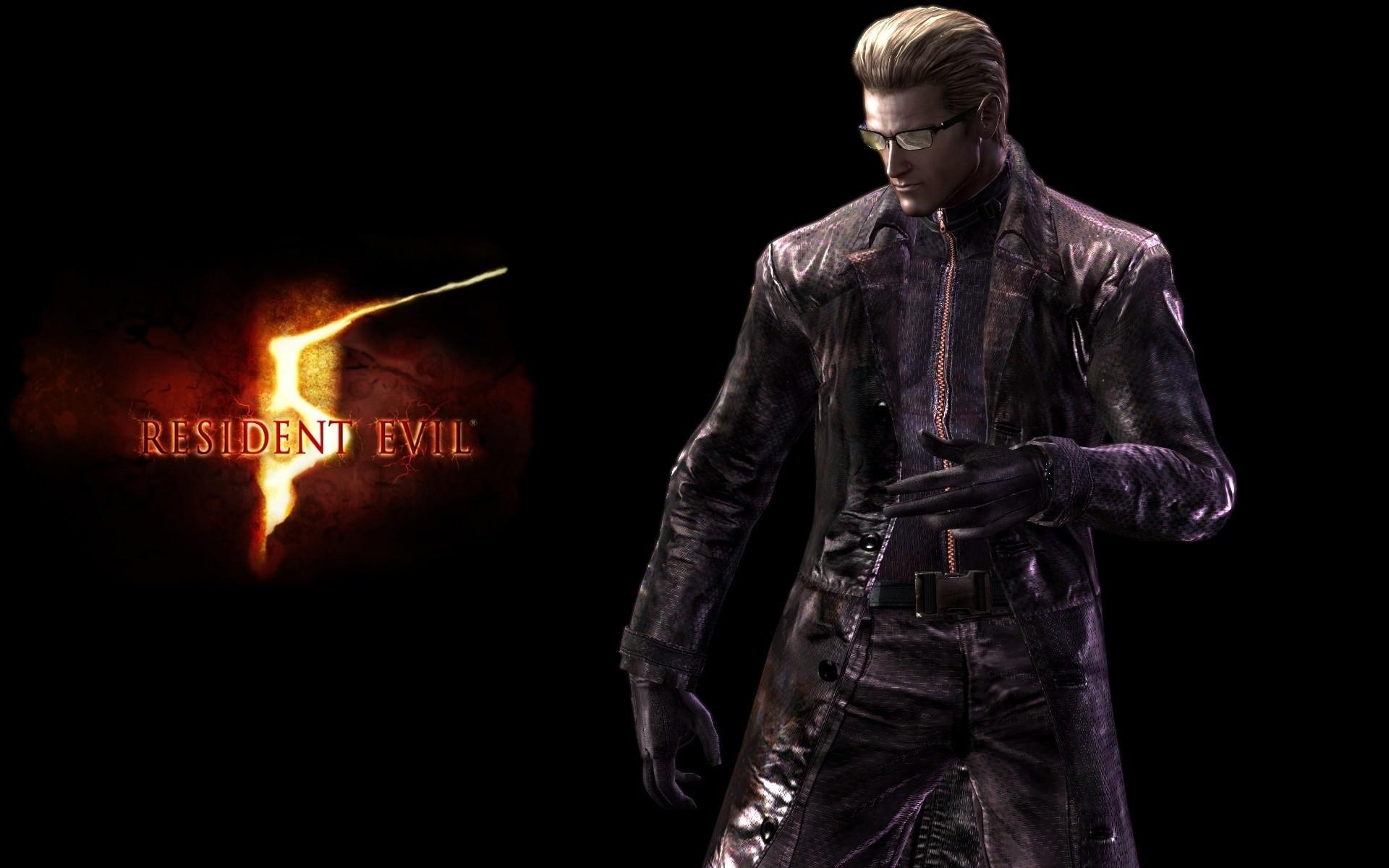 Res: 1920x1200, Albert Wesker in Resident Evil 5 wallpaper