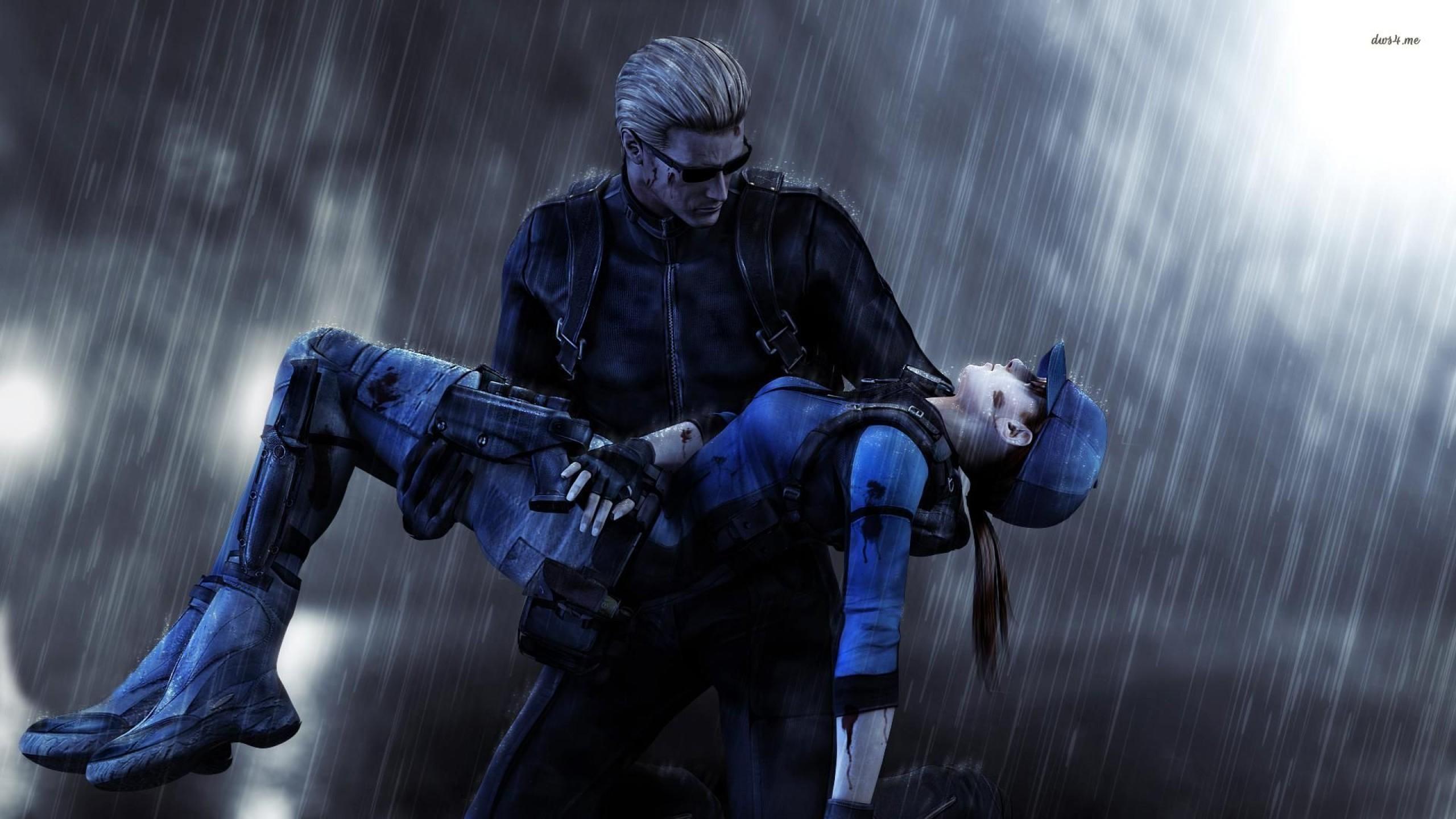 Res: 2560x1440, Albert Wesker - Resident Evil 5 -