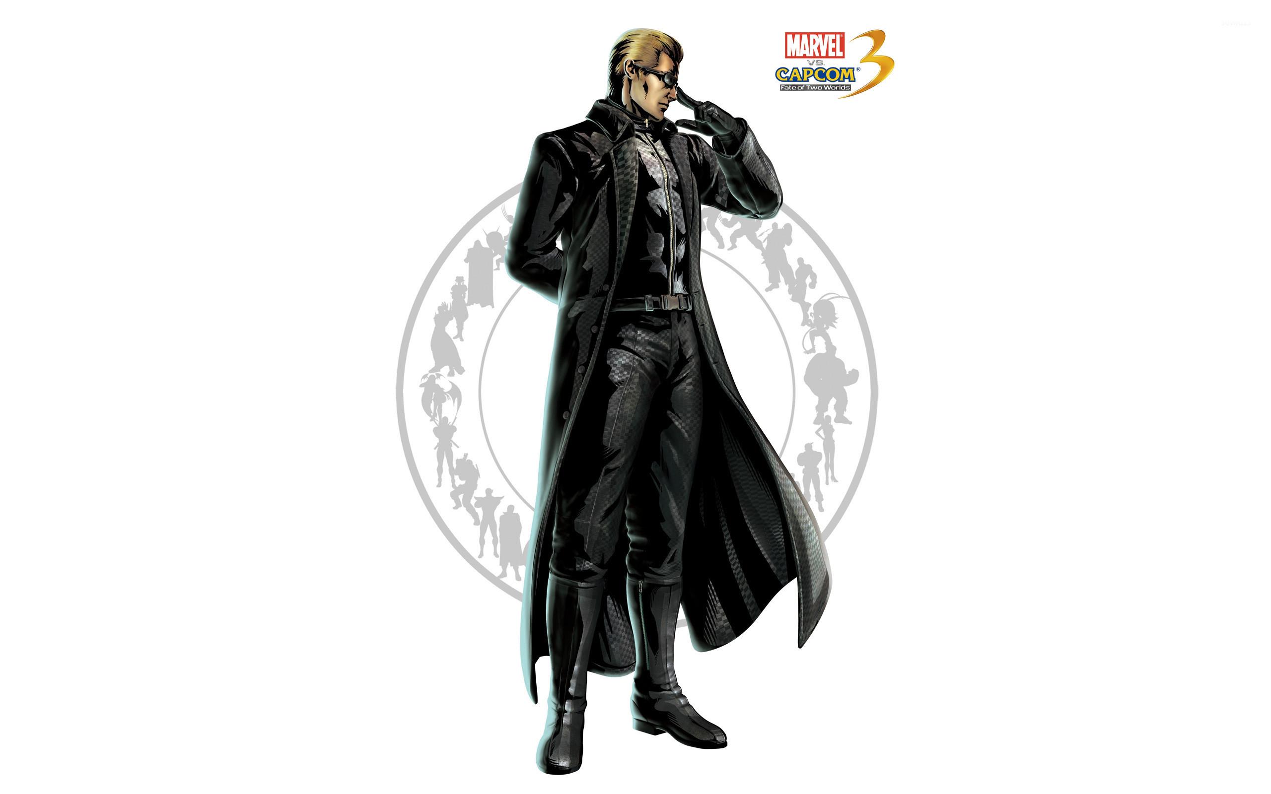 Res: 2560x1600, Capcom 3 - Albert Wesker wallpaper