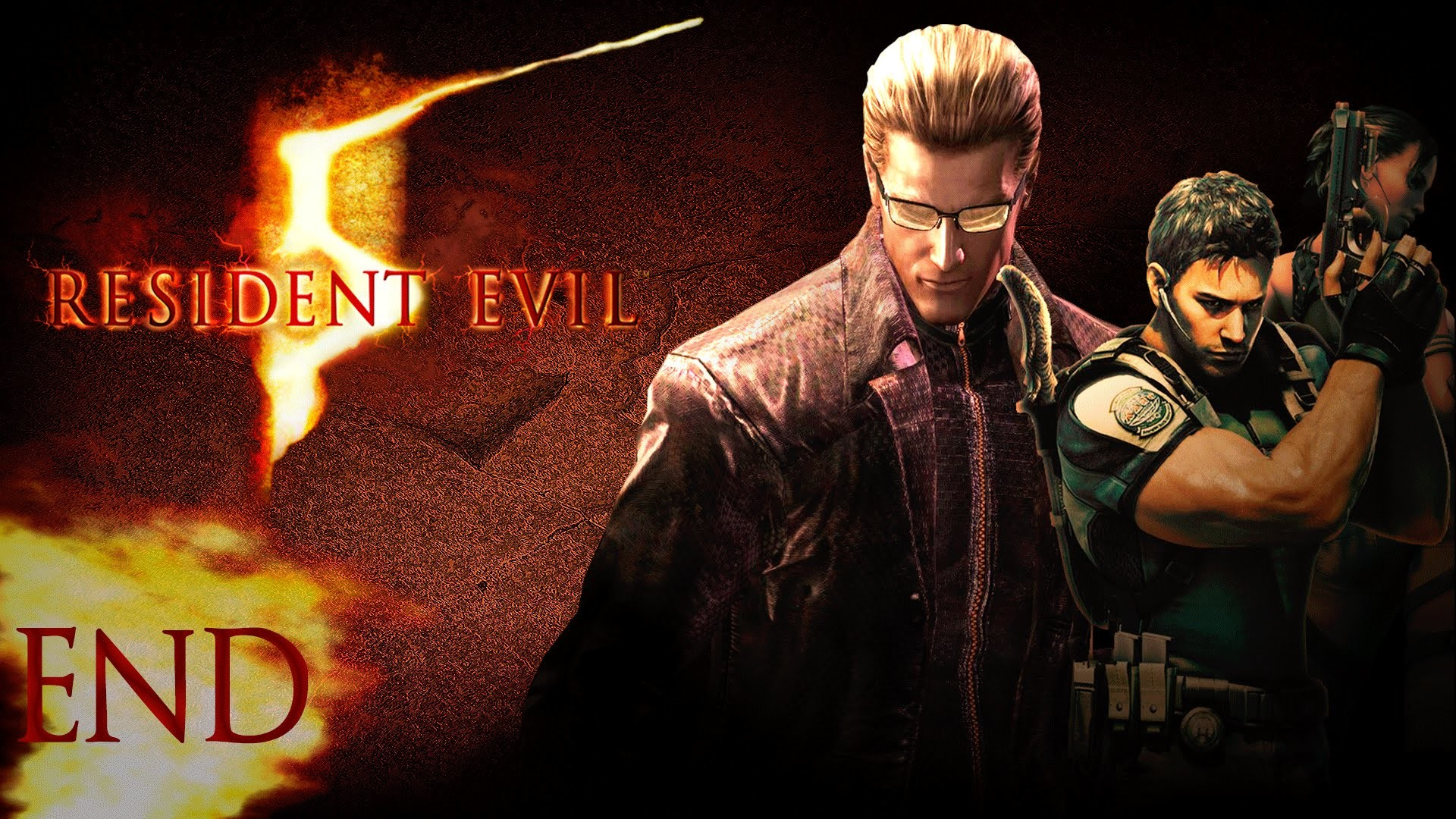 Res: 1920x1080, Let's Play Resident Evil 5 - (CO-OP) Chapter 6-3 ALBERT WESKER BOSS END -  YouTube