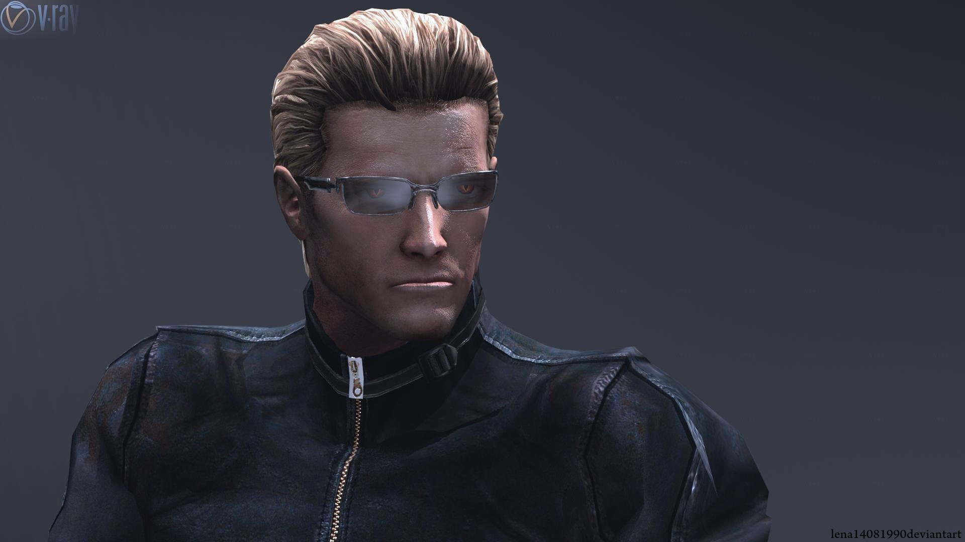 Res: 1920x1080, Albert Wesker own person by WolfShadow14081990 Albert Wesker own person by  WolfShadow14081990