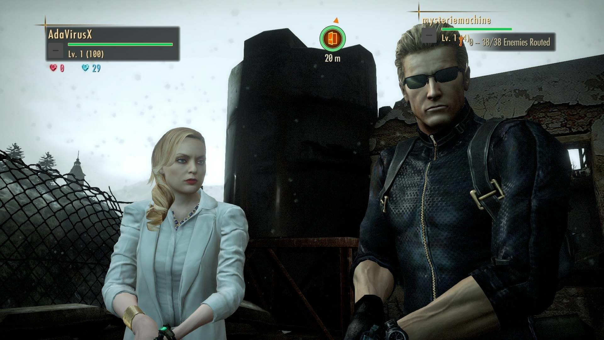 Res: 1920x1080, Albert and Alex Wesker by FearTheOverseer Albert and Alex Wesker by  FearTheOverseer
