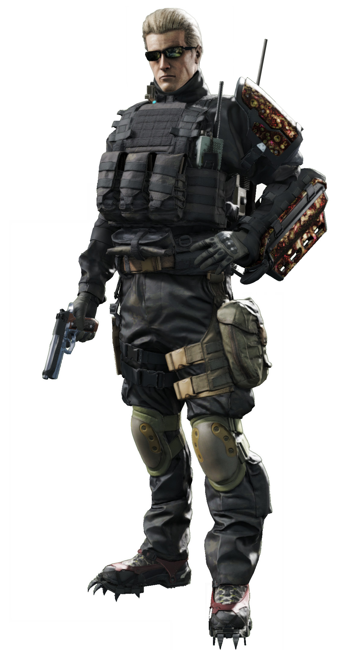 Res: 1200x2154, ... Resident Evil Umbrella Corps - Albert Wesker by saifbeatsart