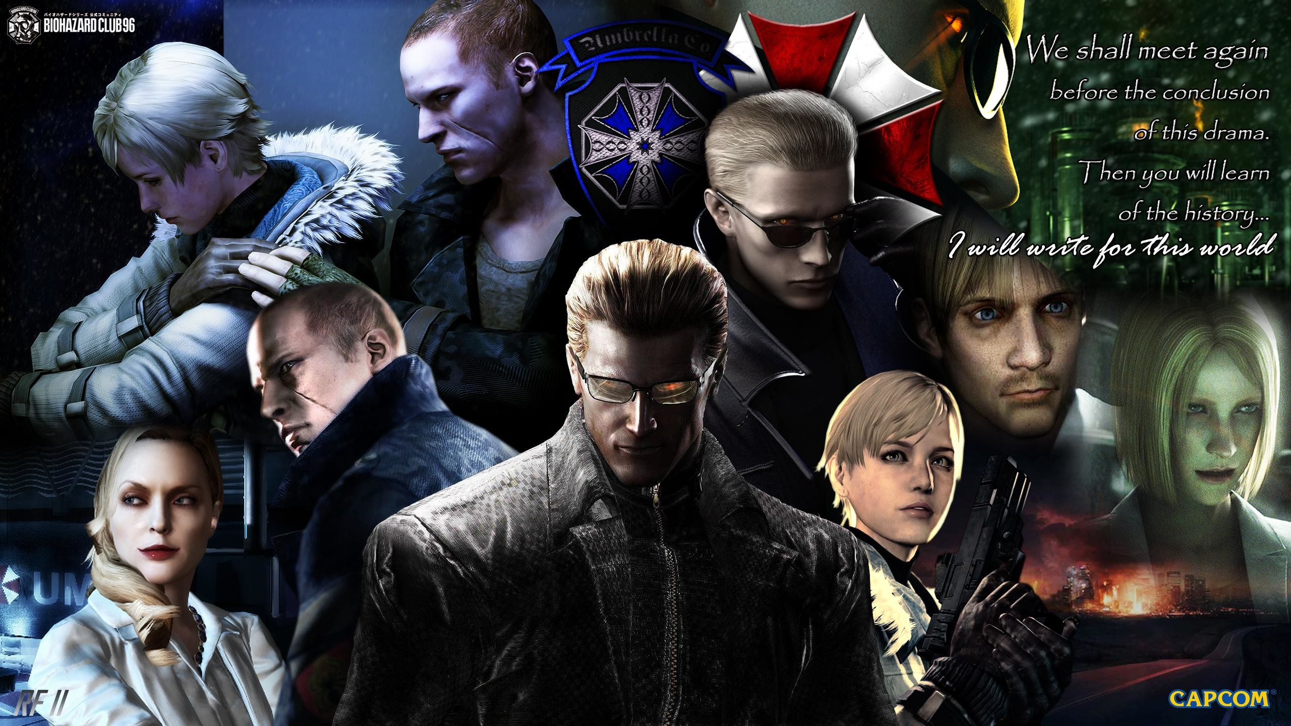 Res: 2560x1440, MiscAlbert Wesker Family Legacy ...