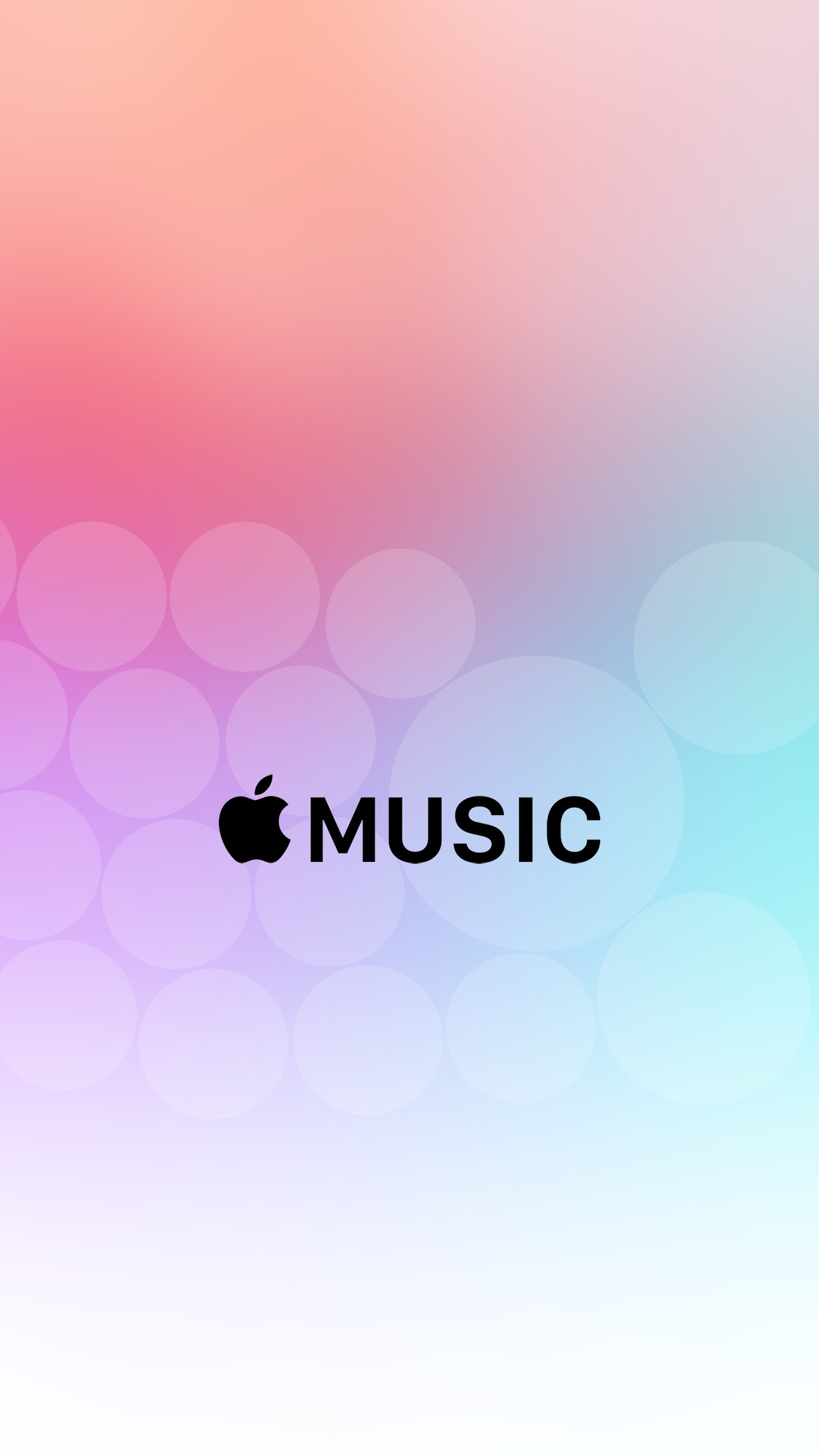 Res: 1242x2208, Apple iPhone 6 Wallpapers Pack - Bing images · Music WallpaperPink ...