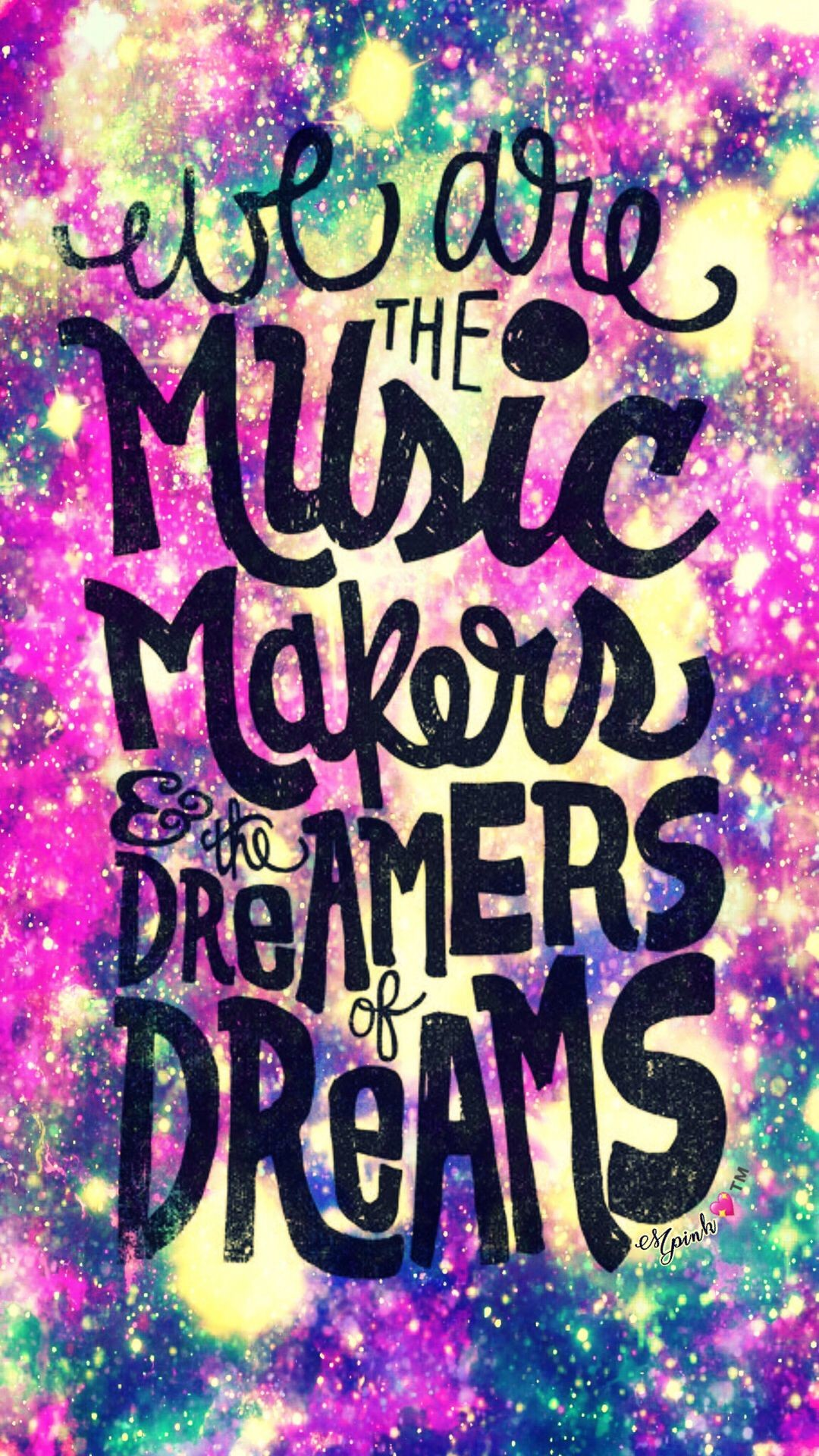 Res: 1080x1920, We Are The Music Makers Galaxy Wallpaper #androidwallpaper #iphonewallpaper  #wallpaper #galaxy #