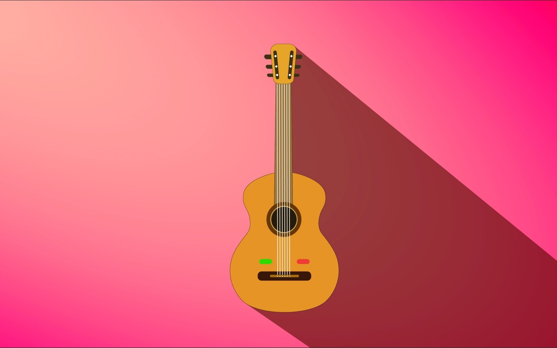 Res: 1920x1200, Guitar on pink wall beautiful happy music wallpapers