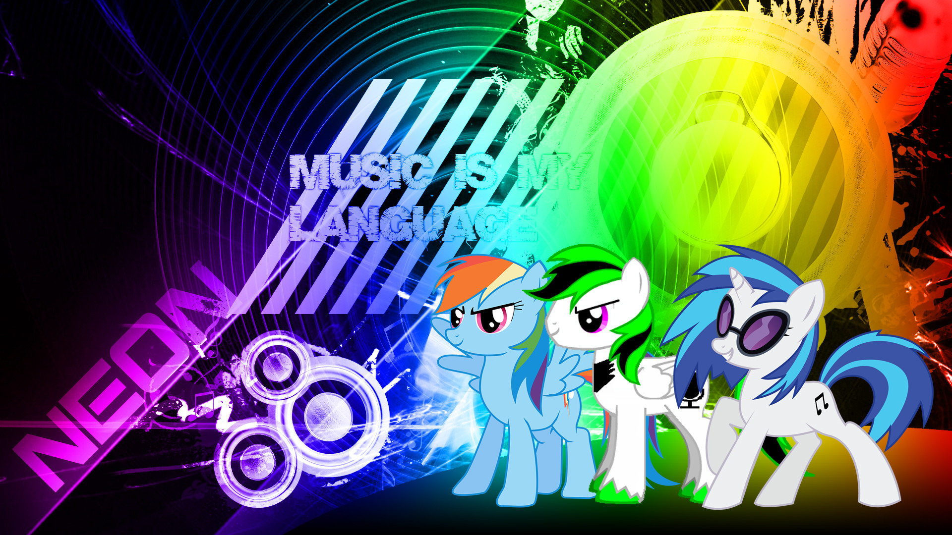 Res: 1920x1080, music wallpaper mlp