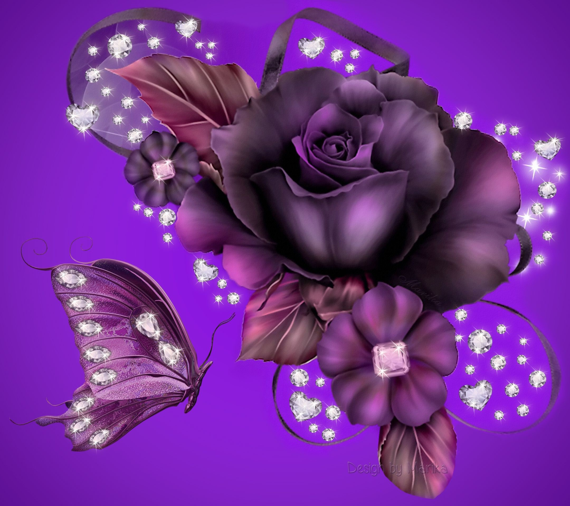 Res: 2160x1920, Purple Rose Background Wallpaper | Purple Rose Desktop Background HD  wallpapers