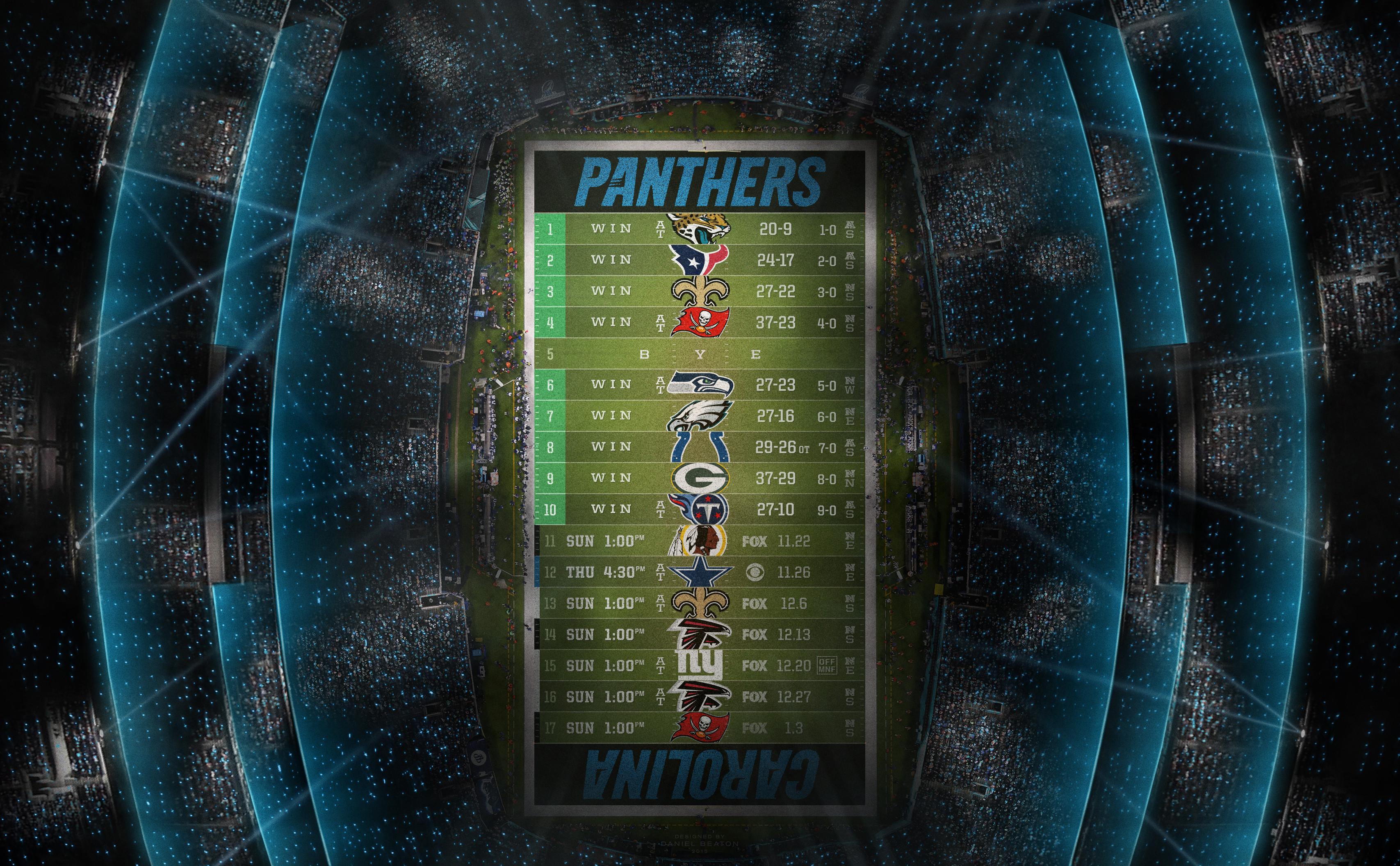 Res: 3414x2112, Updated stadium schedule wallpaper (9-0!)