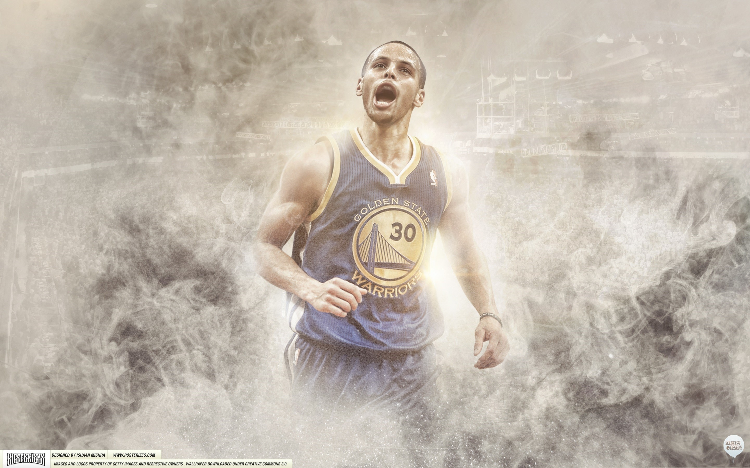 Res: 2880x1800, LindaLisa 119 23 Steph Curry Wallpaper by IshaanMishra