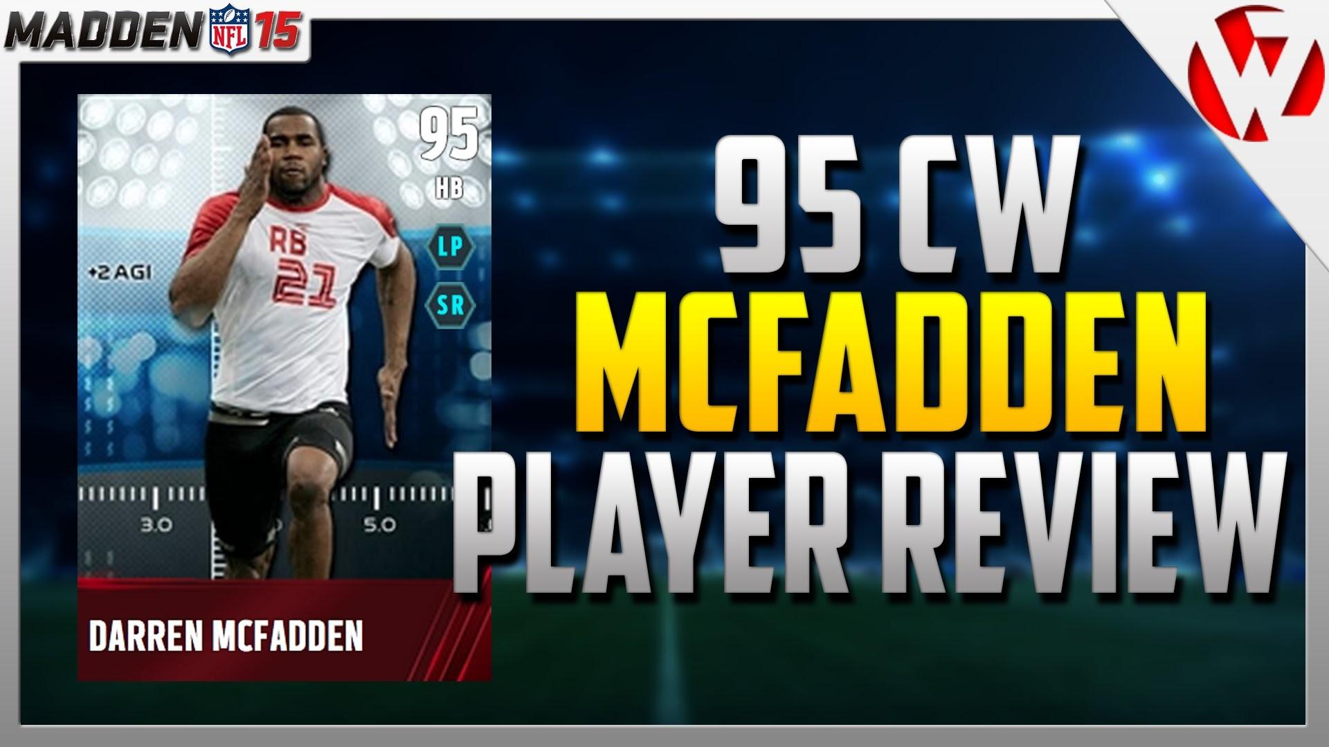 Res: 1920x1080, Madden 15 COMBINE WARRIOR DARREN MCFADDEN REVIEW (95) - Madden 15 Player  Review