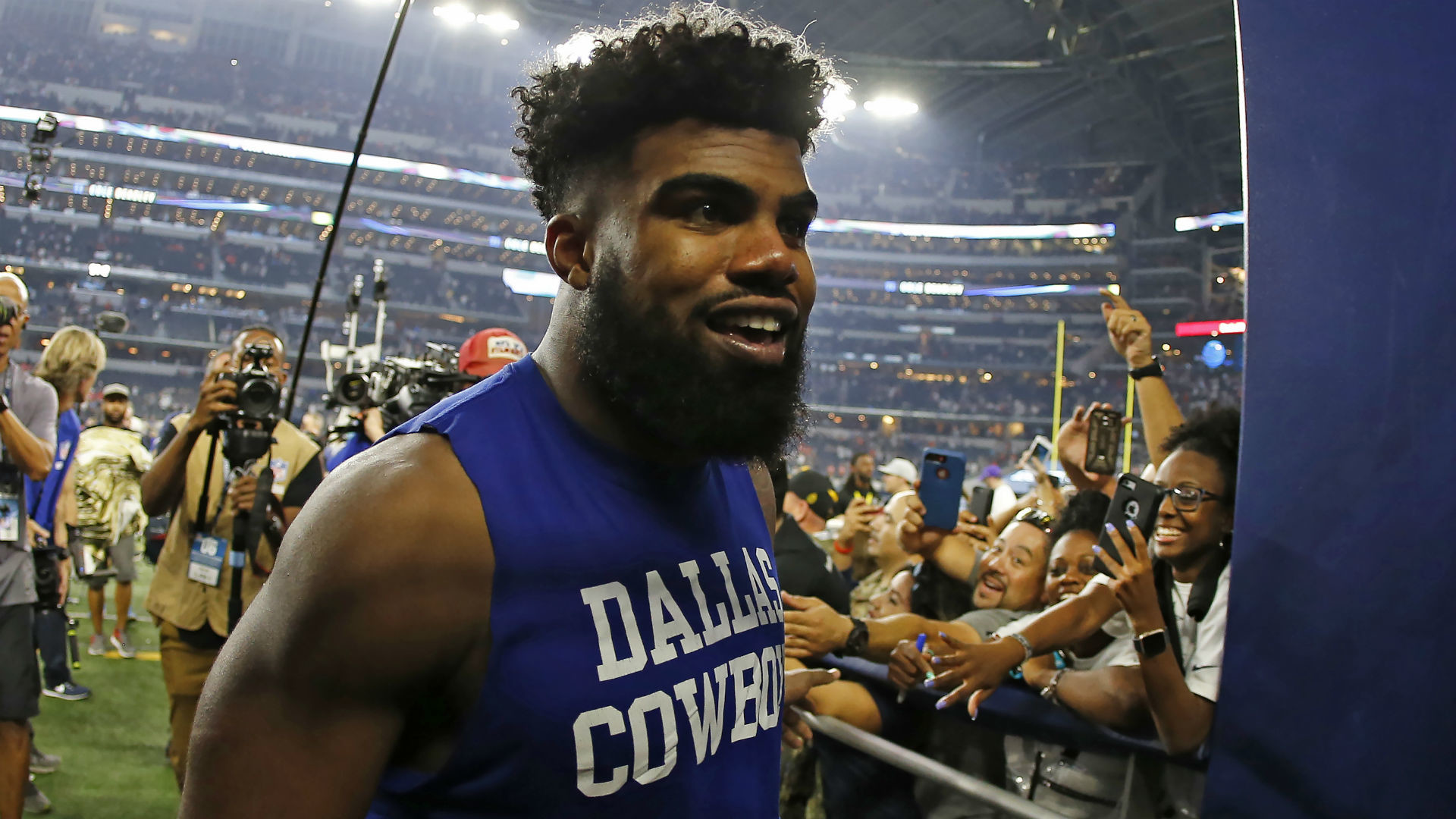 Res: 1920x1080, NFL Week 10 Best Bets: Zeke's absence won't matter, Juju to get behind the  wheel | NFL | Sporting News