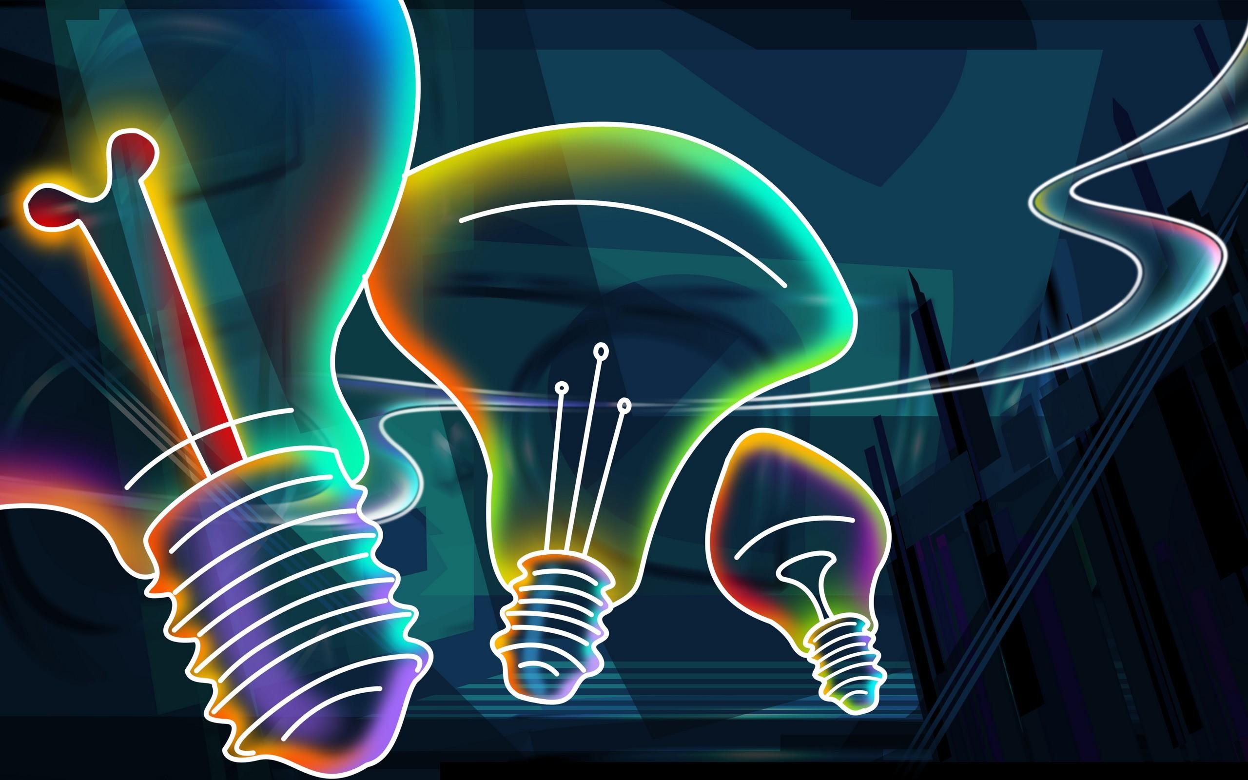 Res: 2560x1600, Neon Color Image Wallpaper