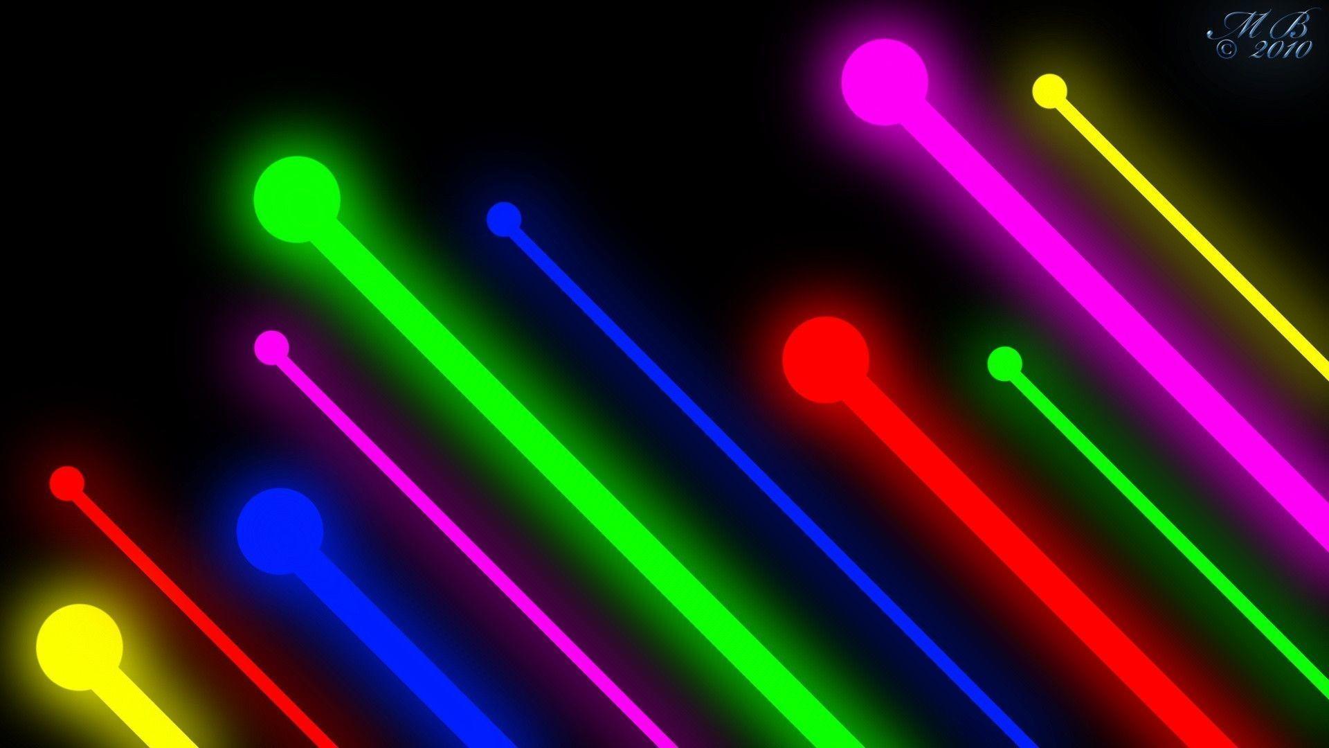 Res: 1920x1080, Neon Lights Wallpapers