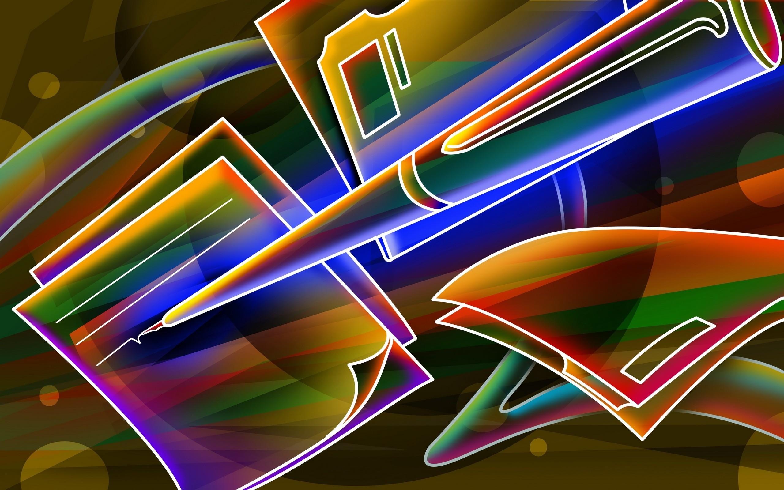 Res: 2560x1600, Neon Wallpaper