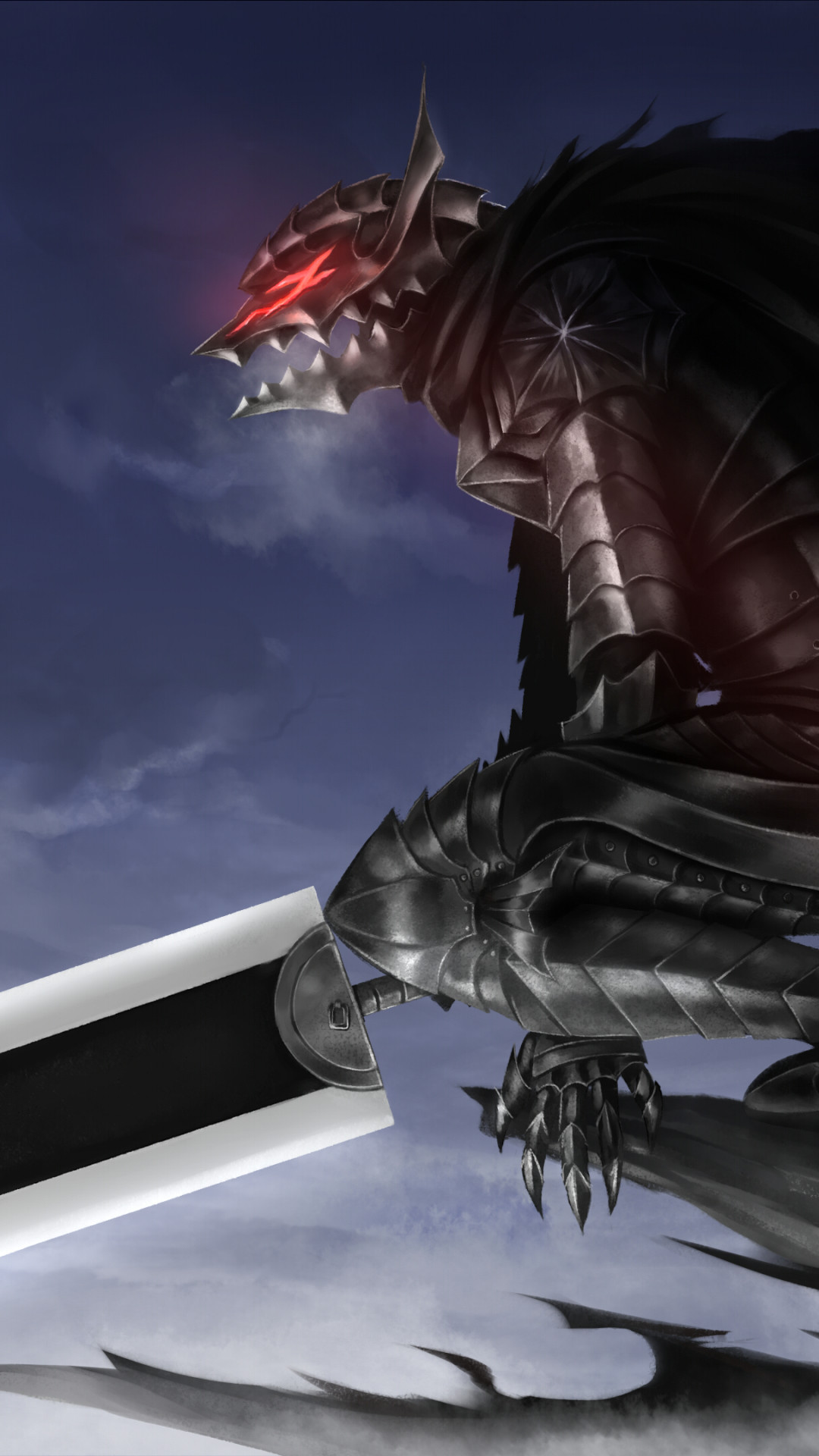 Res: 1080x1920, Anime / Berserk () Mobile Wallpaper