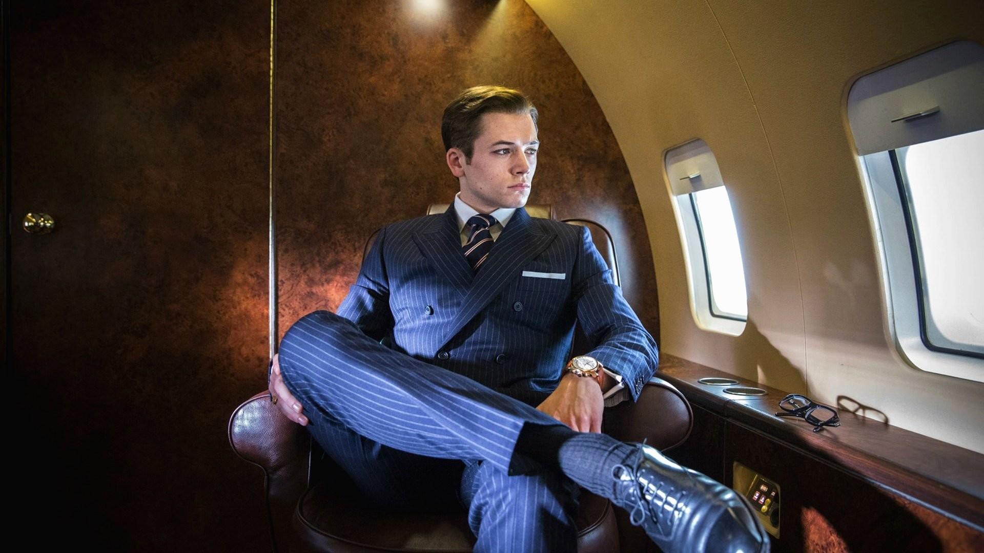 Res: 1920x1080, Movie - Kingsman: The Secret Service Taron Egerton Wallpaper