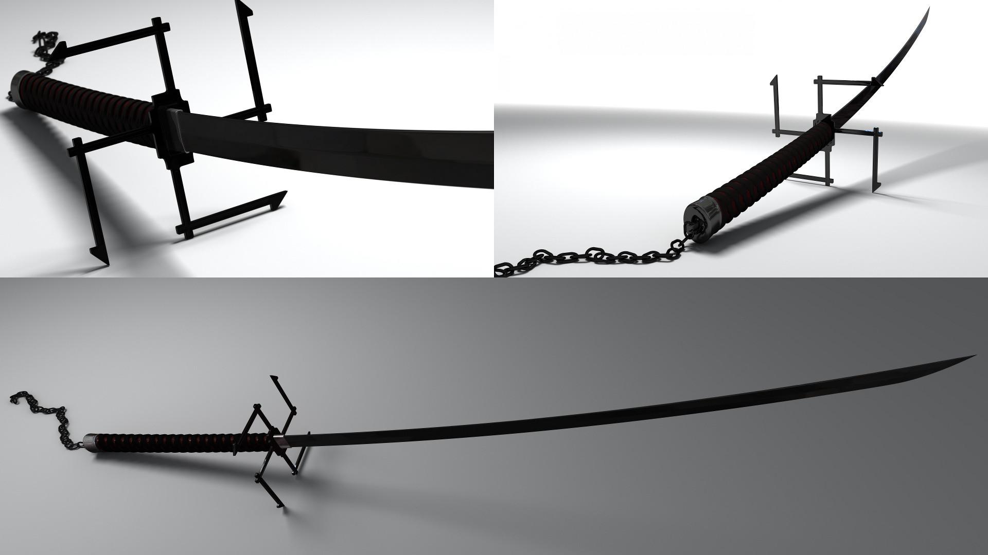 Res: 1920x1080, img 3 loading Zangetsu Sword Wallpaper