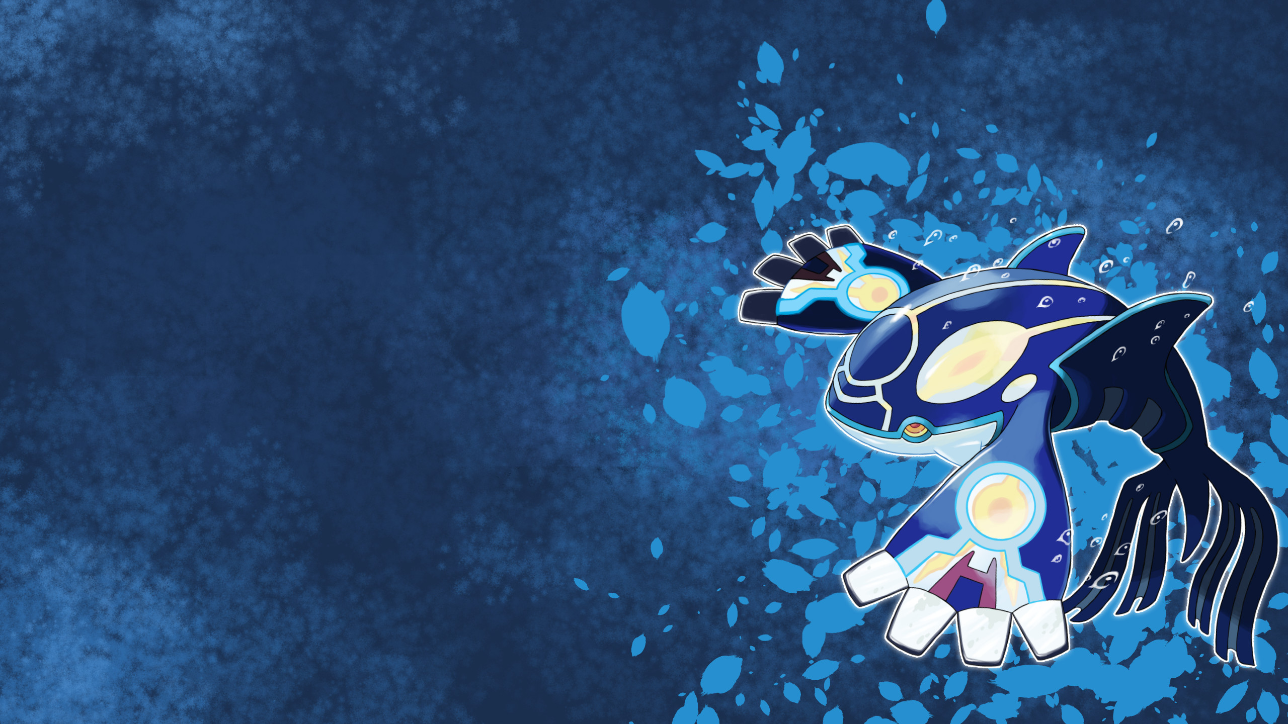 Res: 2560x1440, Wallpaper Primal Kyogre by AlouNea on DeviantArt