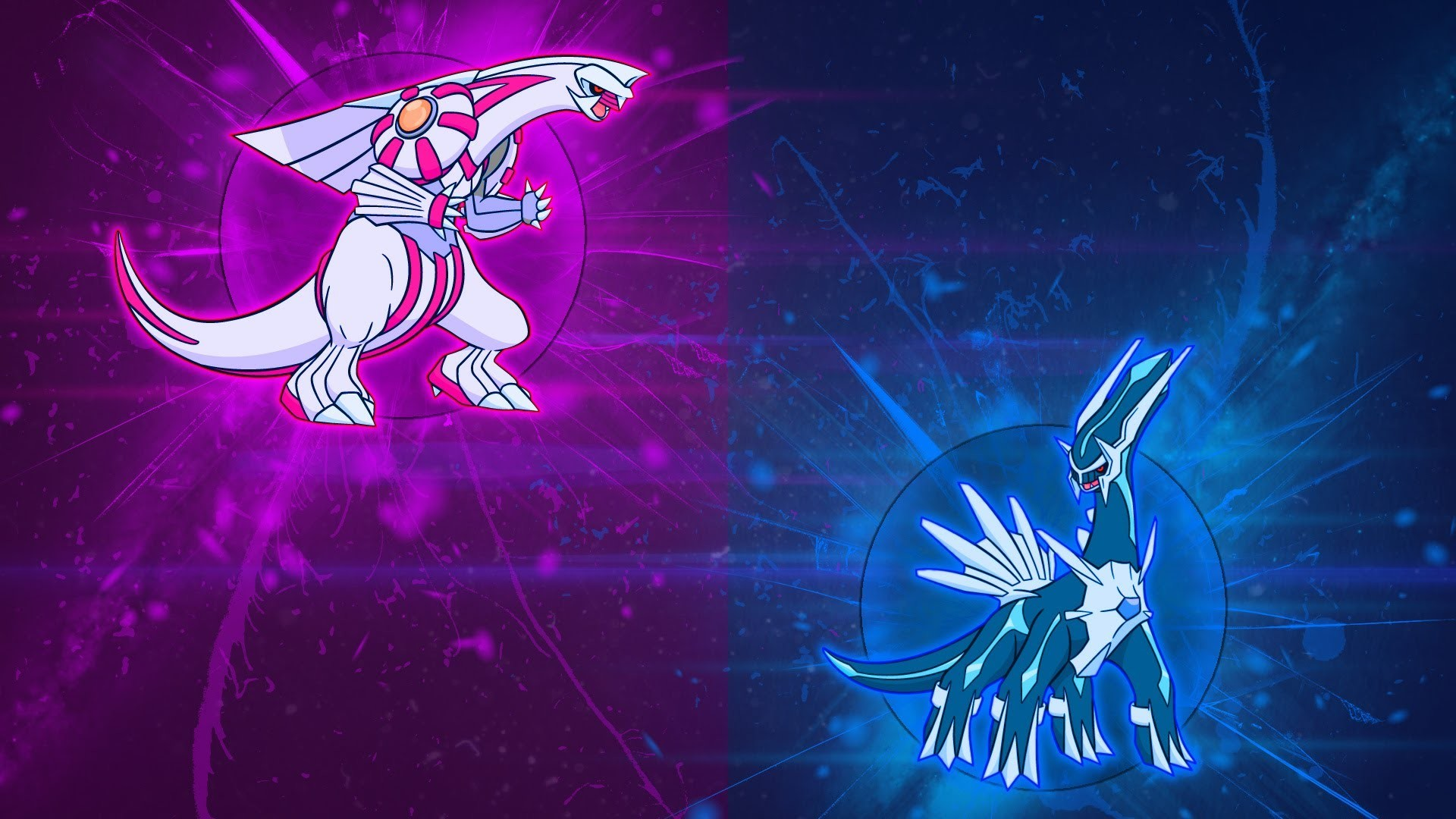 Res: 1920x1080, Speedart: Dialga & Palkia Wallpaper - TB24Lps - YouTube