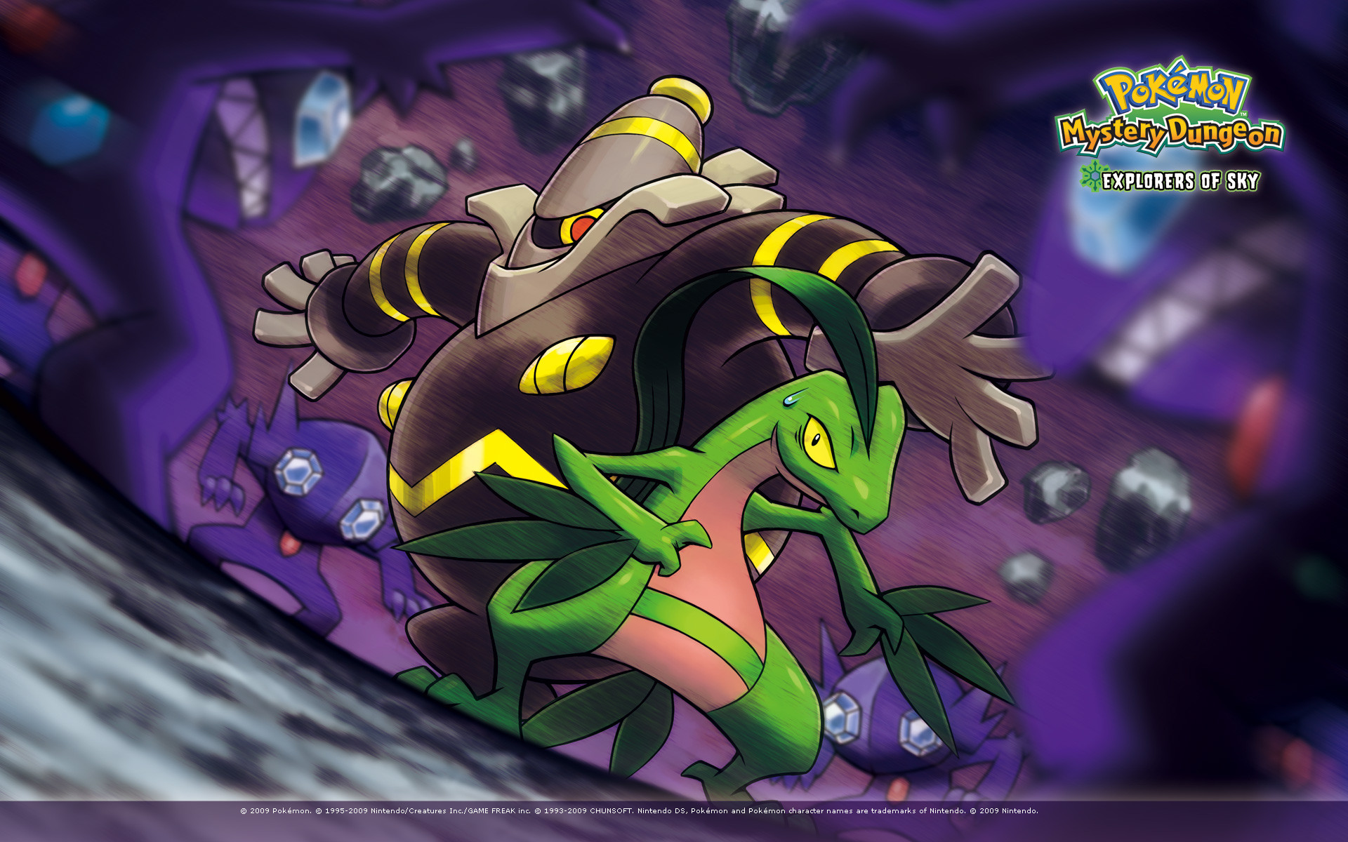 Res: 1920x1200, Pokmon Mystery Dungeon Explorers of Sky Wallpaper 5