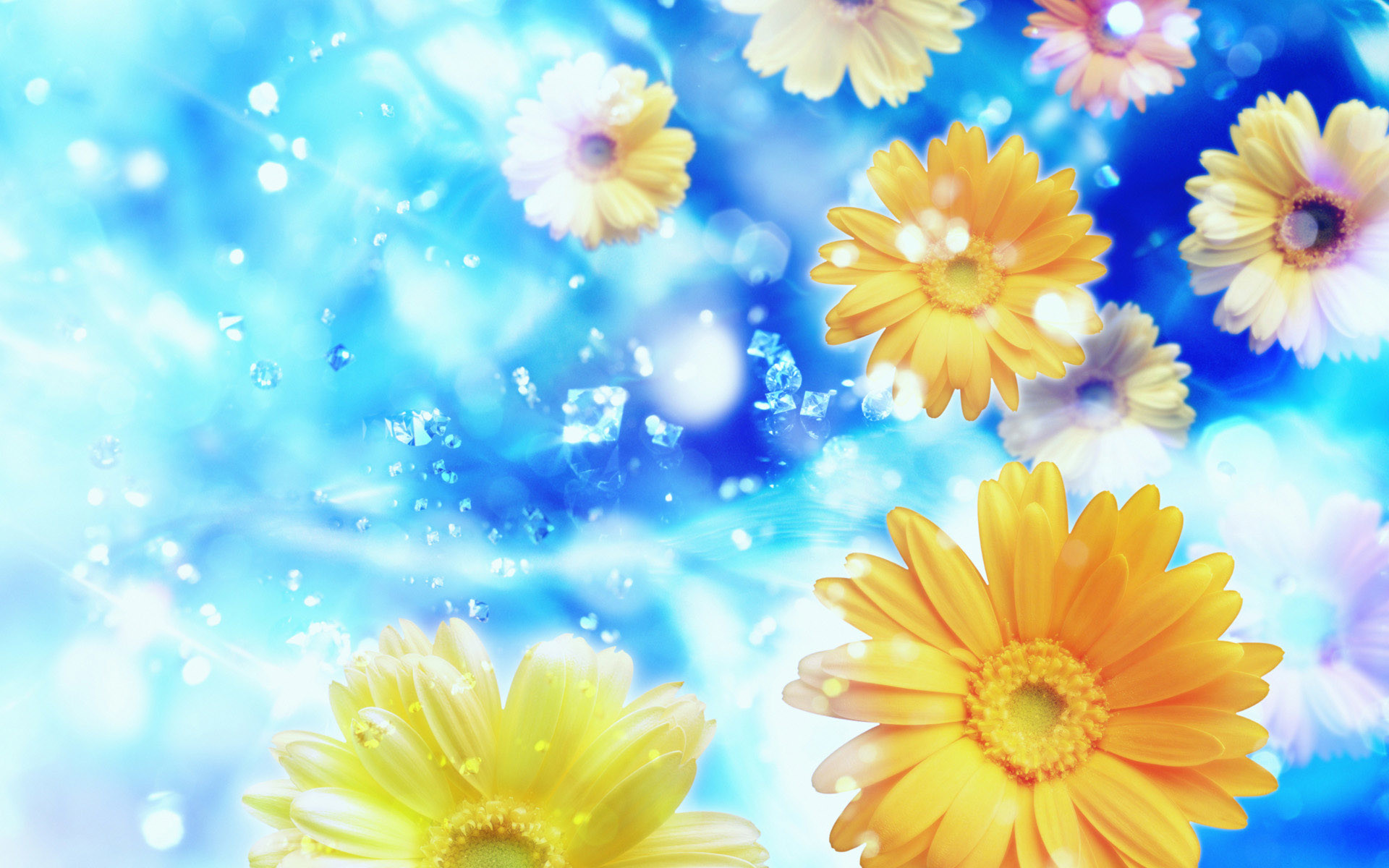 Res: 1920x1200, Best Background Wallpaper Flowers High Resolution Widescreen For Mobile  Phones