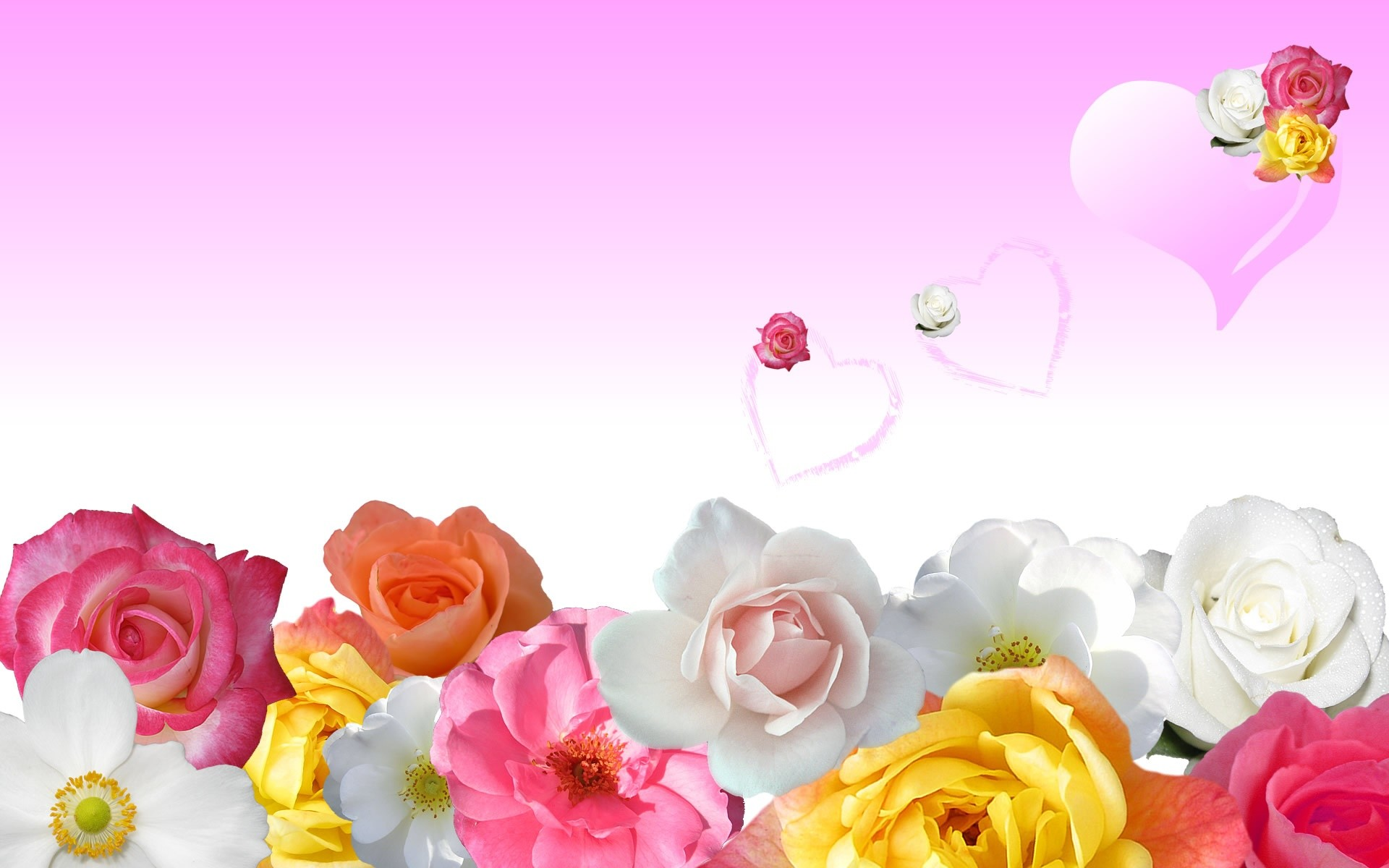 Res: 1920x1200, Backgrounds For Love Heart Wallpaper About Flowers And Hart No Name Hd Pics  Pc