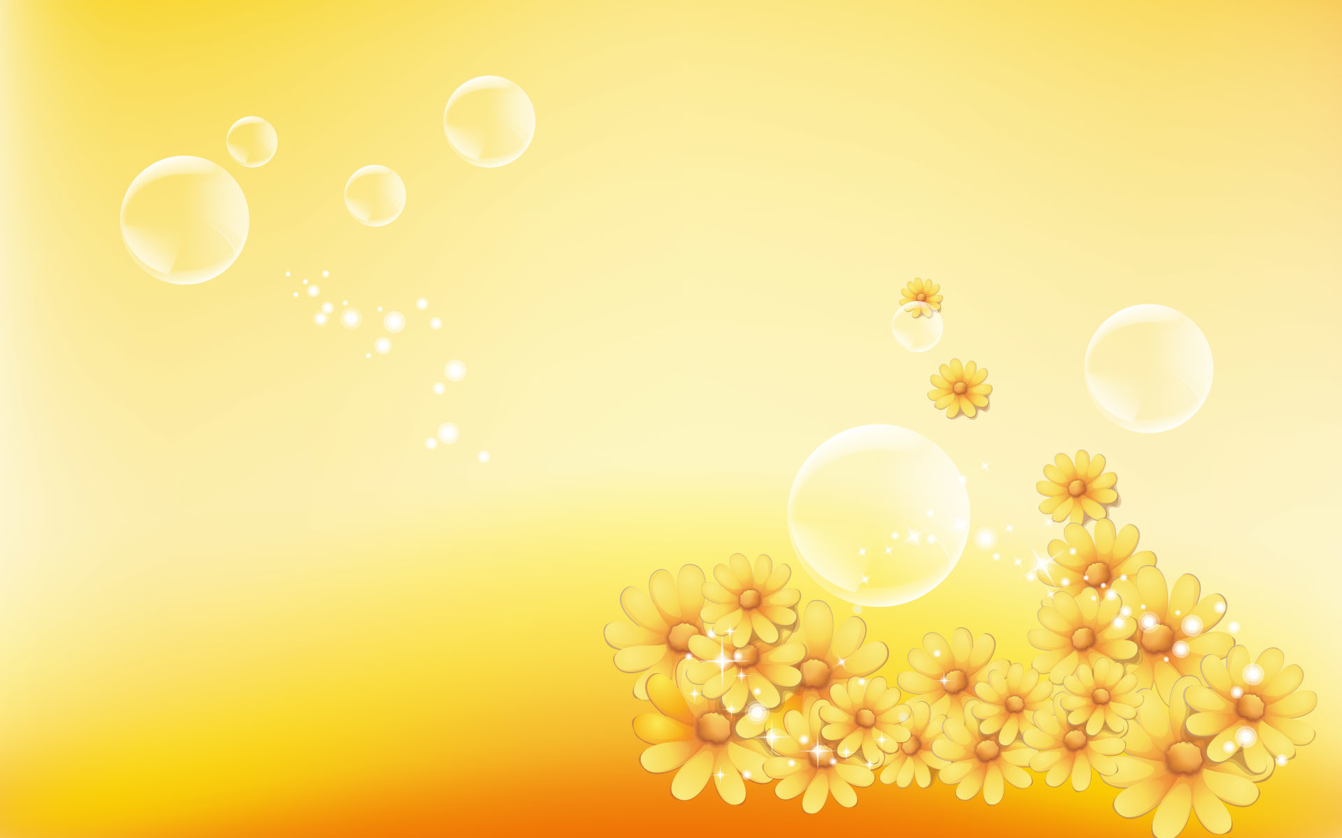 Res: 1920x1200, Yellow Color Background