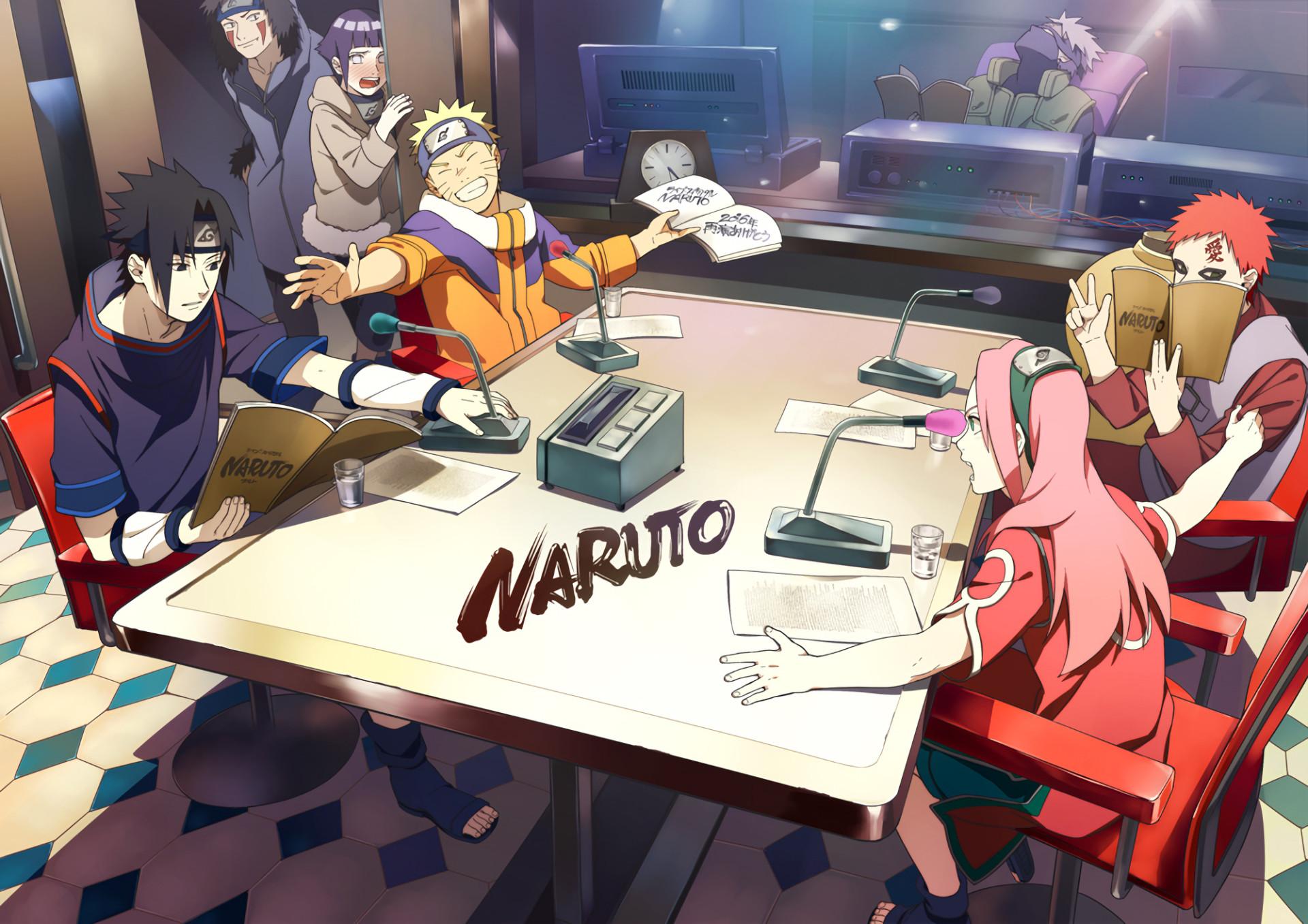 Res: 1920x1357, Anime - Naruto Gaara (Naruto) Kakashi Hatake Sasuke Uchiha Naruto Uzumaki  Hinata Hyūga Sakura