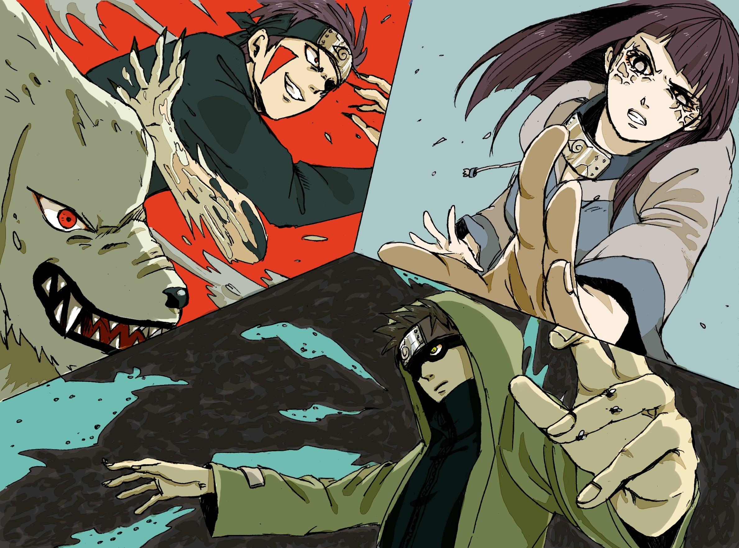 Res: 2378x1763, Tags: naruto shippuuden trio aburame shino inuzuka kiba kiba inuzuka shino  aburame shino akamaru headband hinata hyuuga hyuuga hinata naruto shippuden  Anime ...
