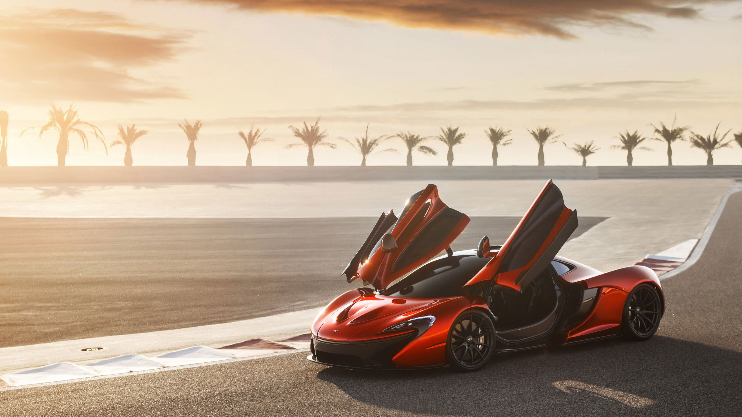 Res: 2560x1440, Fahrzeuge - McLaren P1 Non Autos Supercar Orange Car Wallpaper