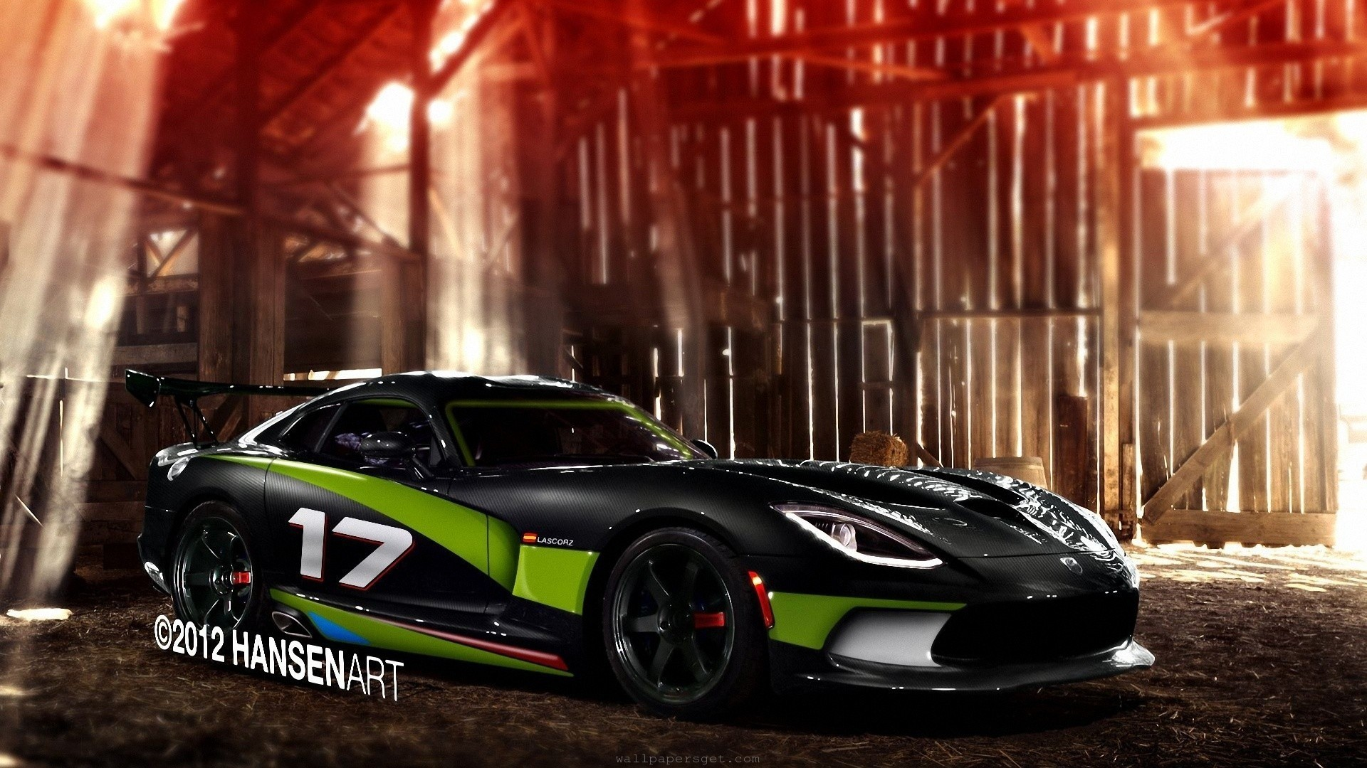 Res: 1920x1080, Viper tuning races modified speed muscle car wallpaper
