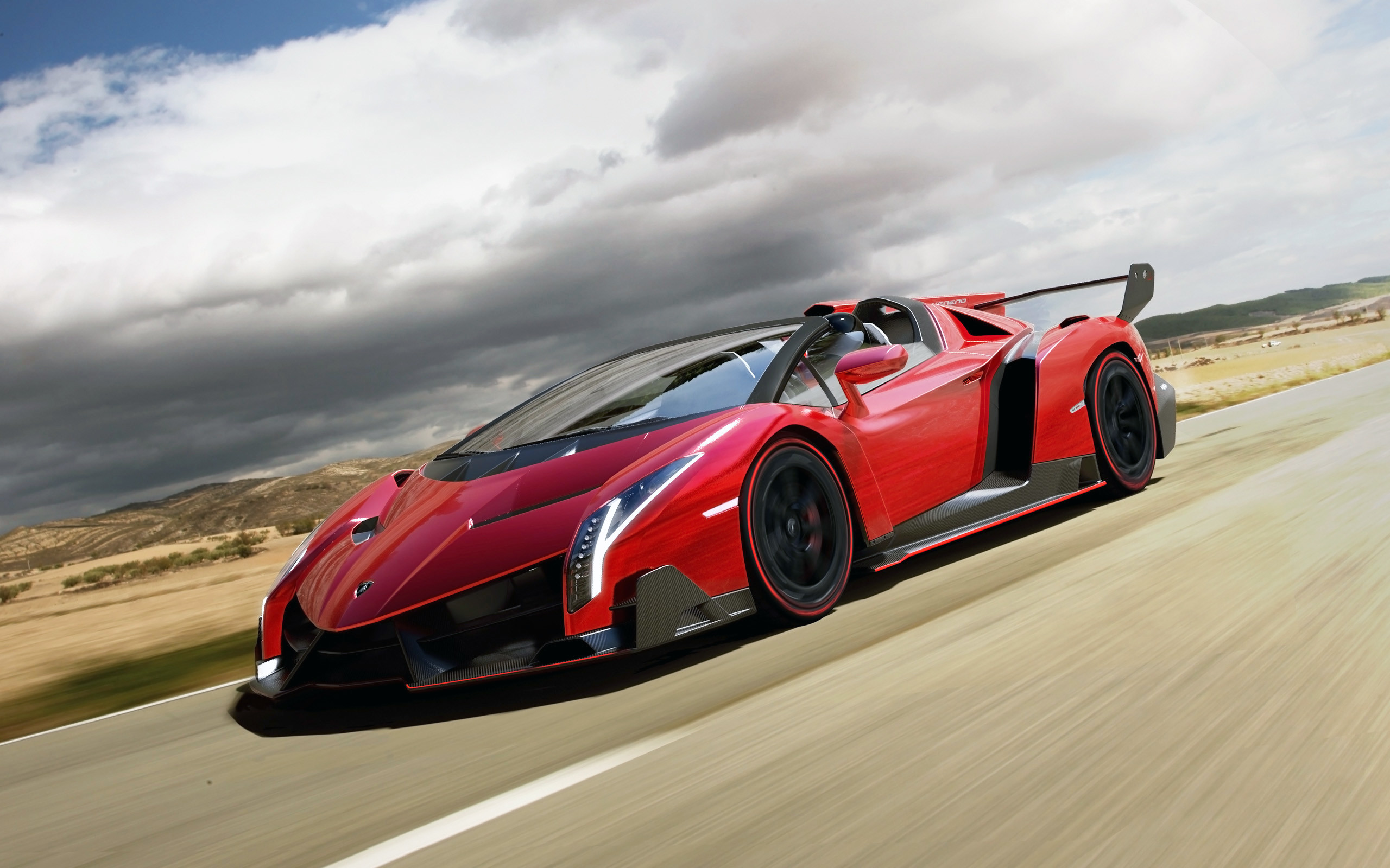 Res: 2560x1600,  2014 Lamborghini Veneno Roadster Wallpaper HD Car Wallpapers