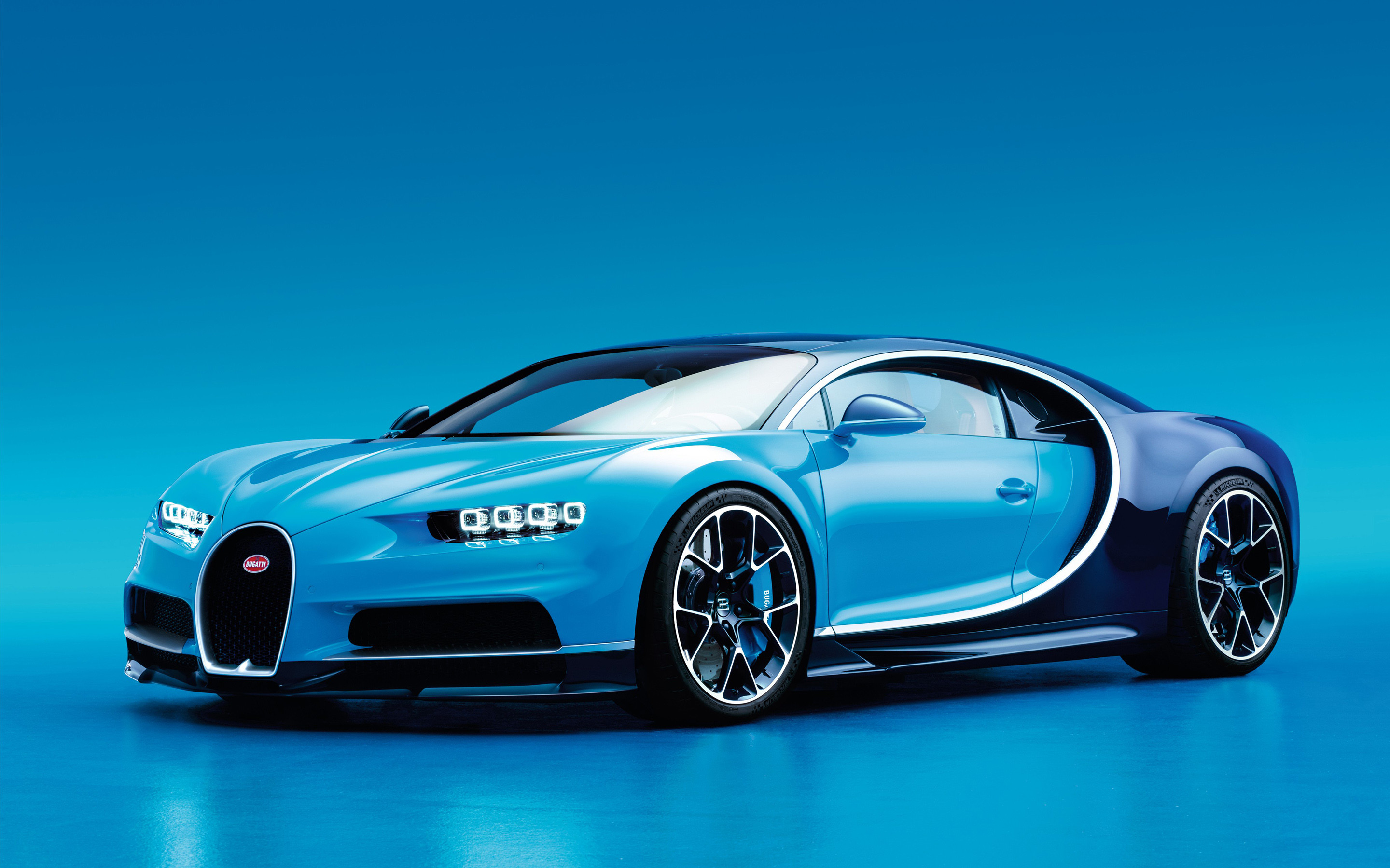 Res: 2880x1800, 2017 Bugatti Chiron Wallpaper