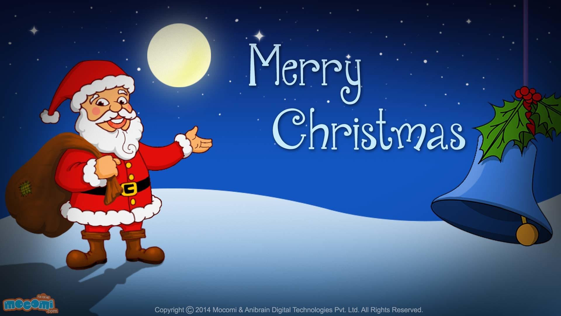 Res: 1920x1080, Merry Christmas- Santa Claus. Â«