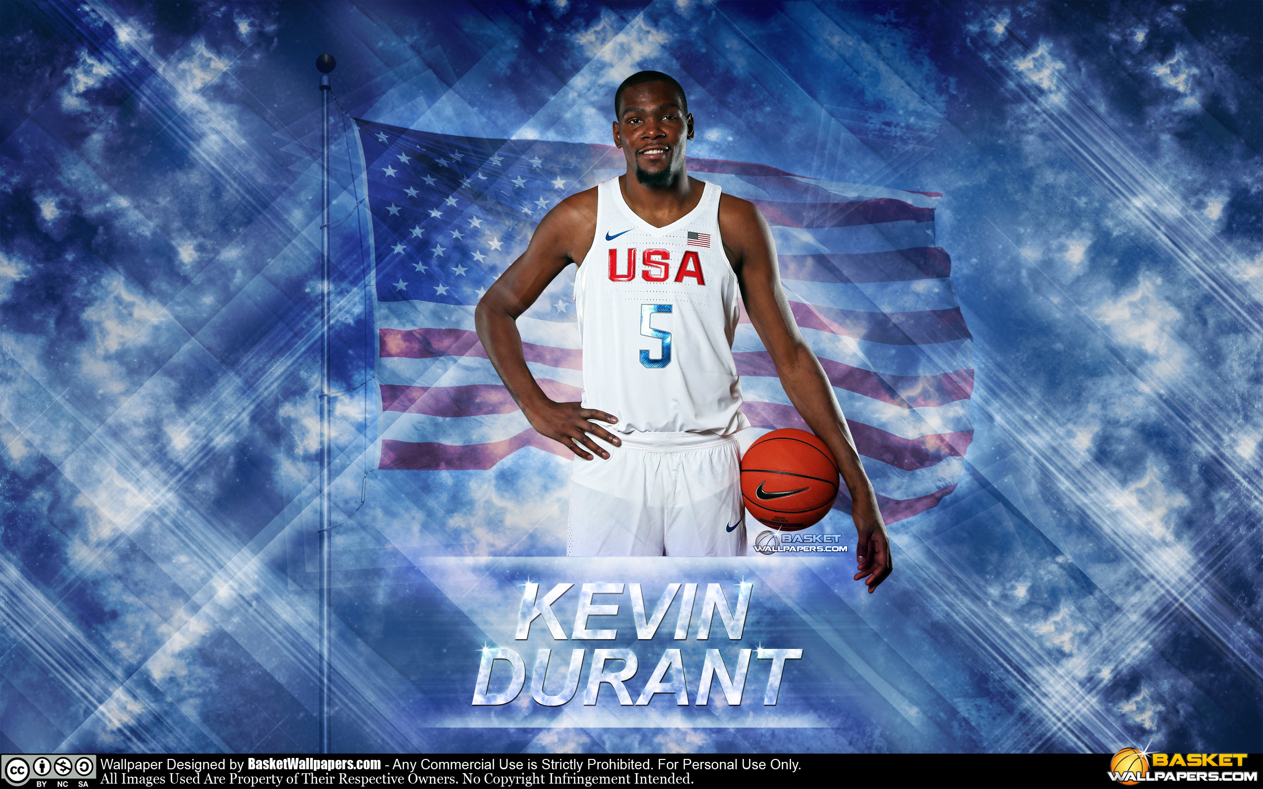 Res: 2560x1600, Kevin Durant USA 2016 Olympics Wallpaper