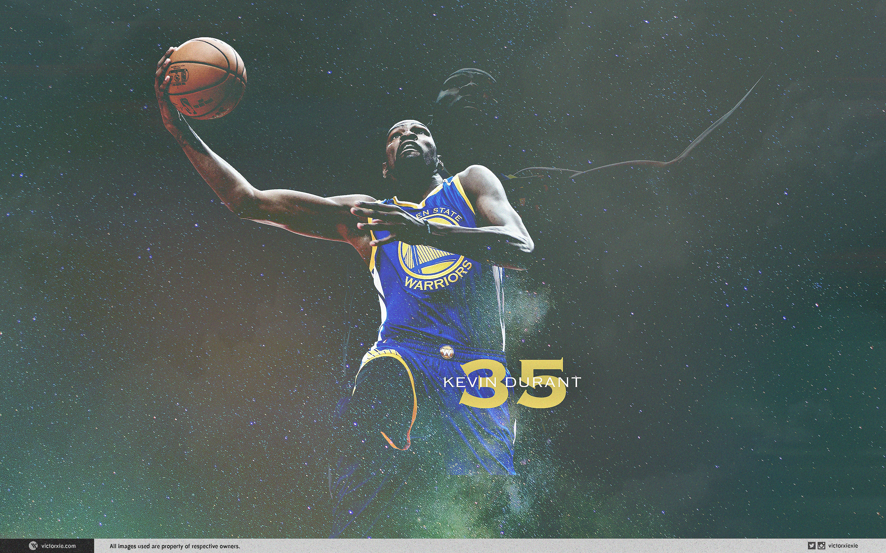 Res: 2880x1800, Kevin Durant Wallpaper Golden Gate Warriors 1