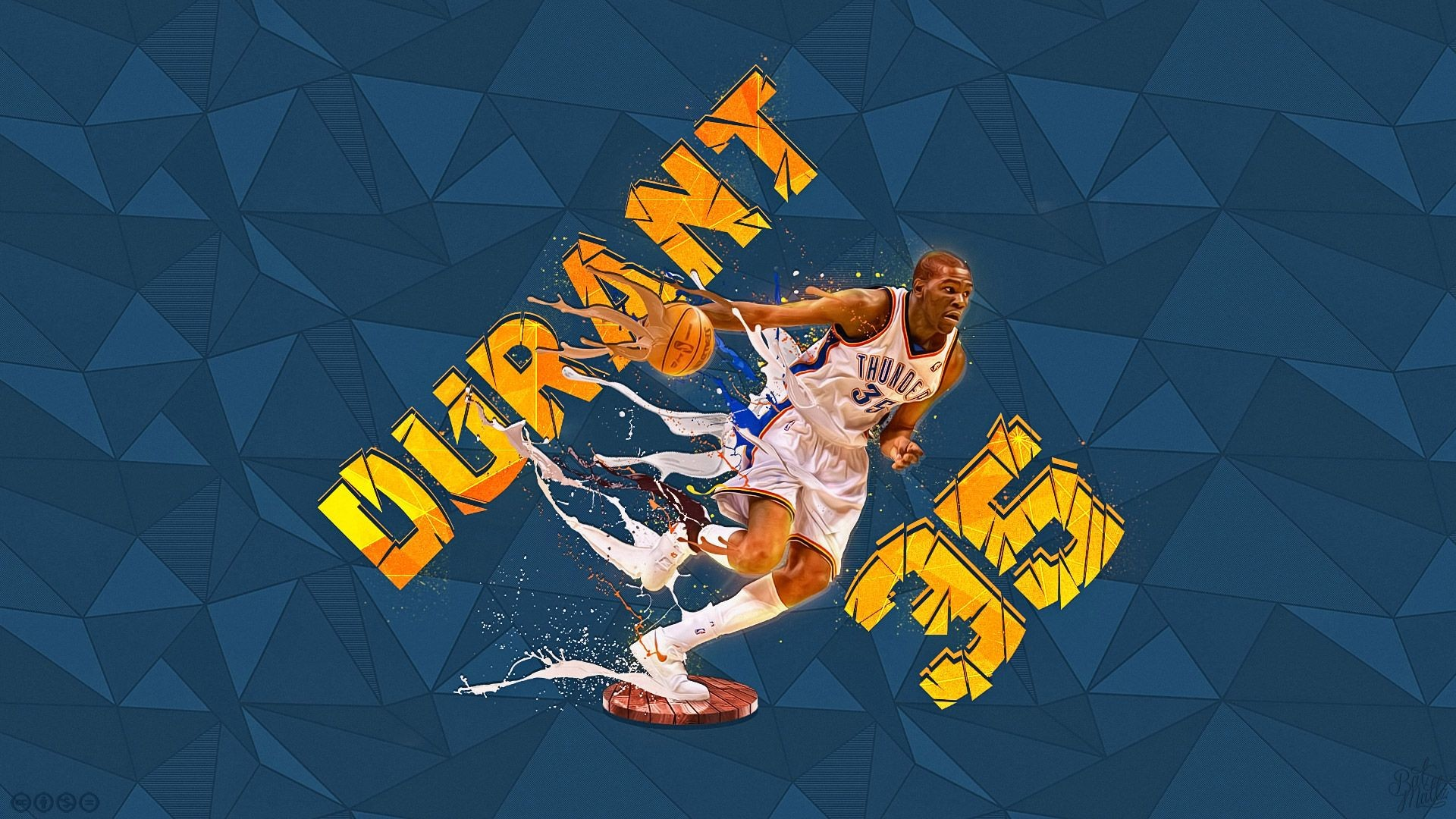 Res: 1920x1080, Kevin Durant Wallpapers | Basketball Wallpapers at .