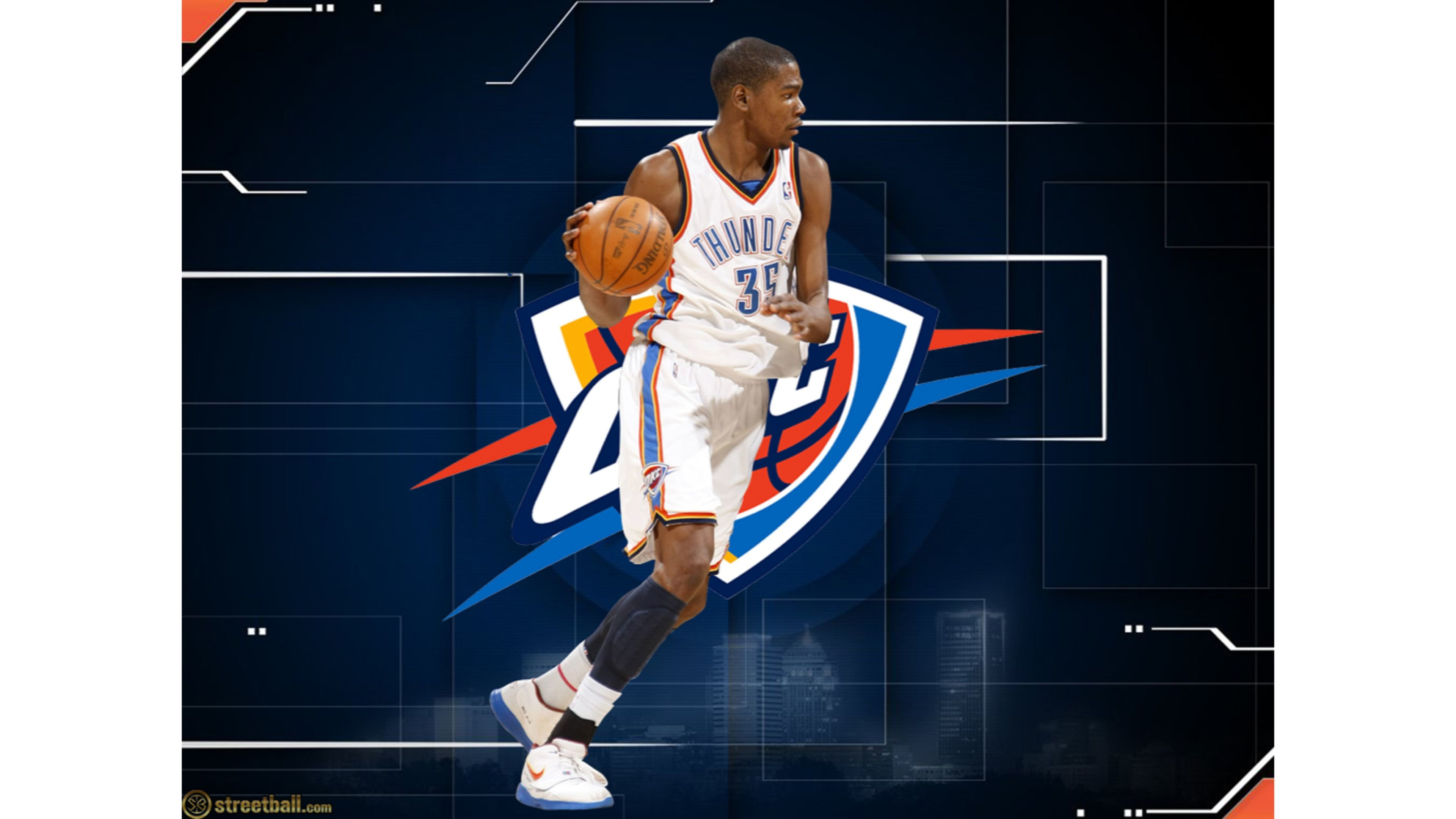 Res: 3840x2160, OKC Kevin Durant 4K Wallpapers